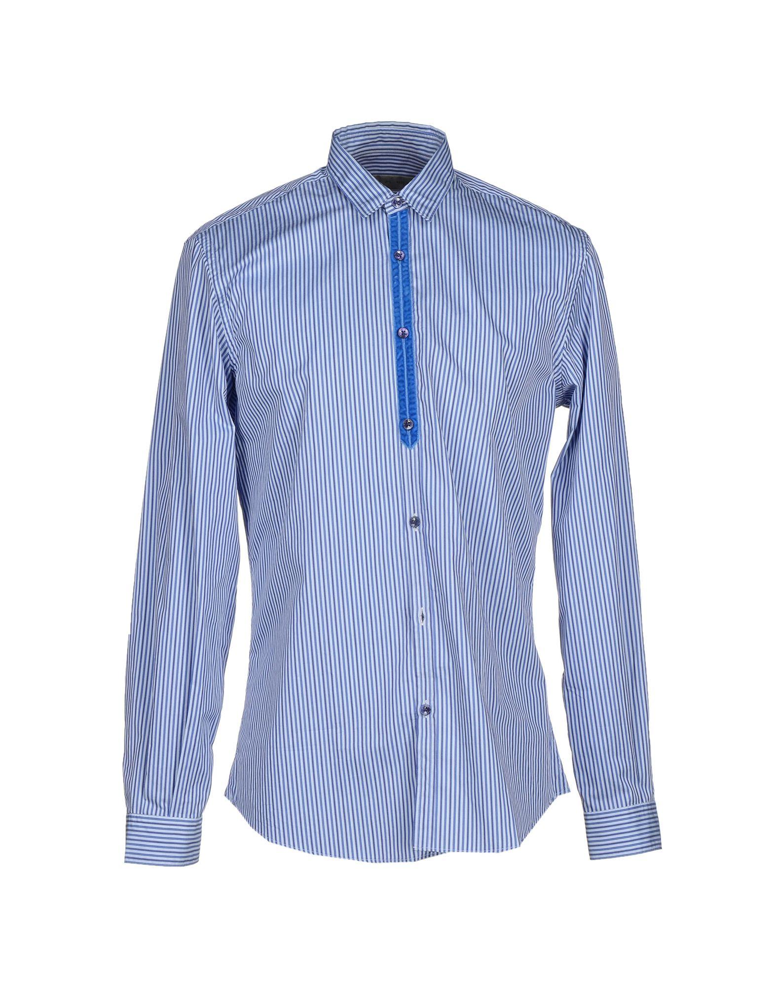Etro shirt in blue for men azure lyst for Etro men s shirts