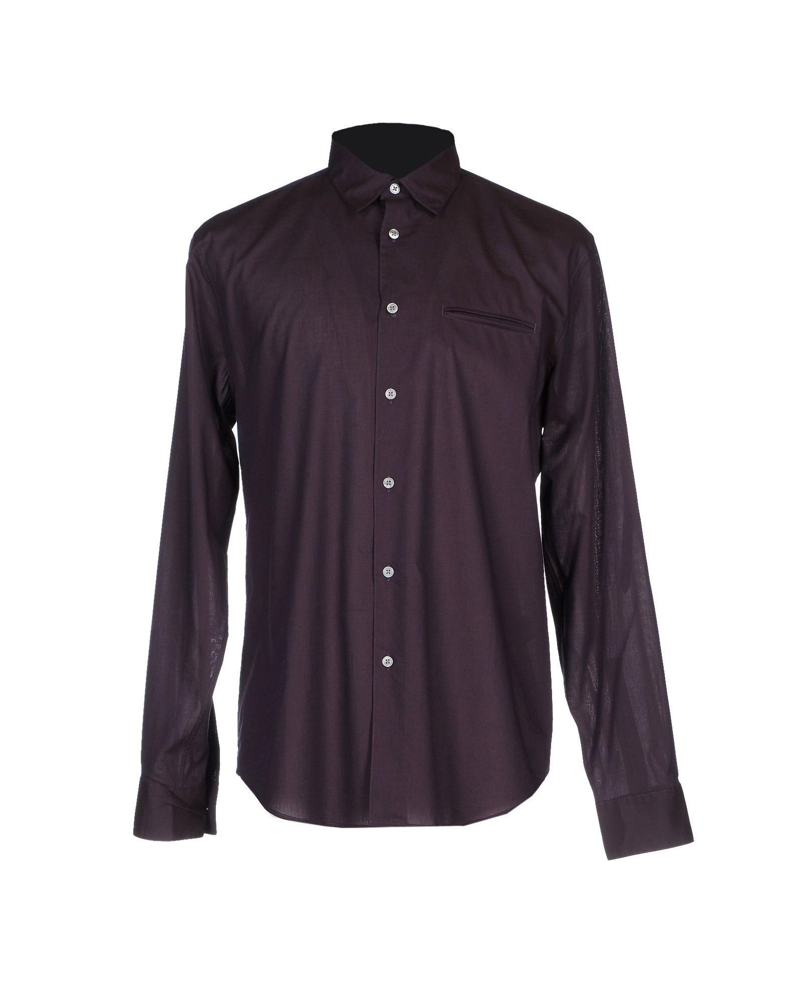John varvatos Shirt in Black for Men (Dark purple) | Lyst