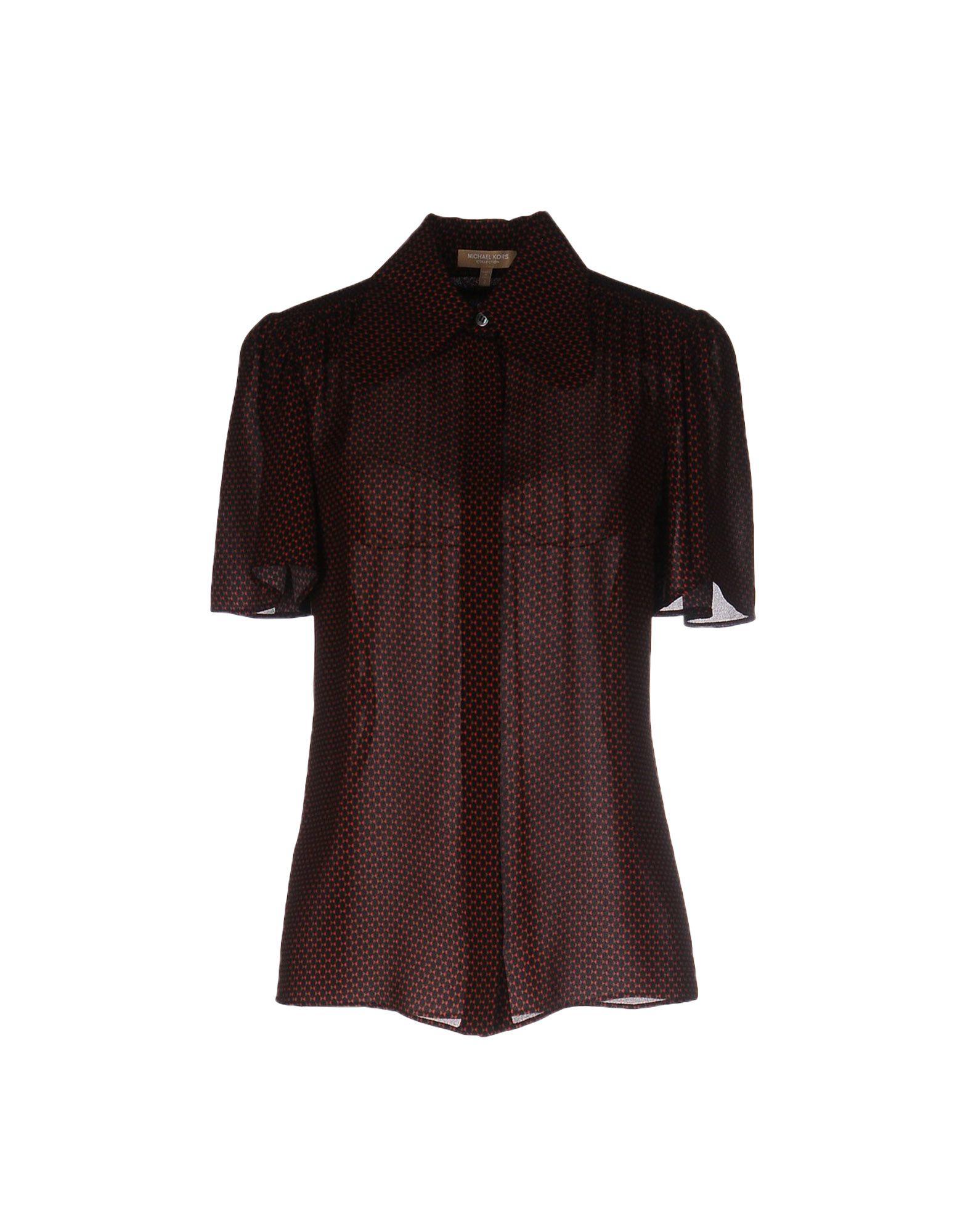 michael kors shirt in black lyst. Black Bedroom Furniture Sets. Home Design Ideas
