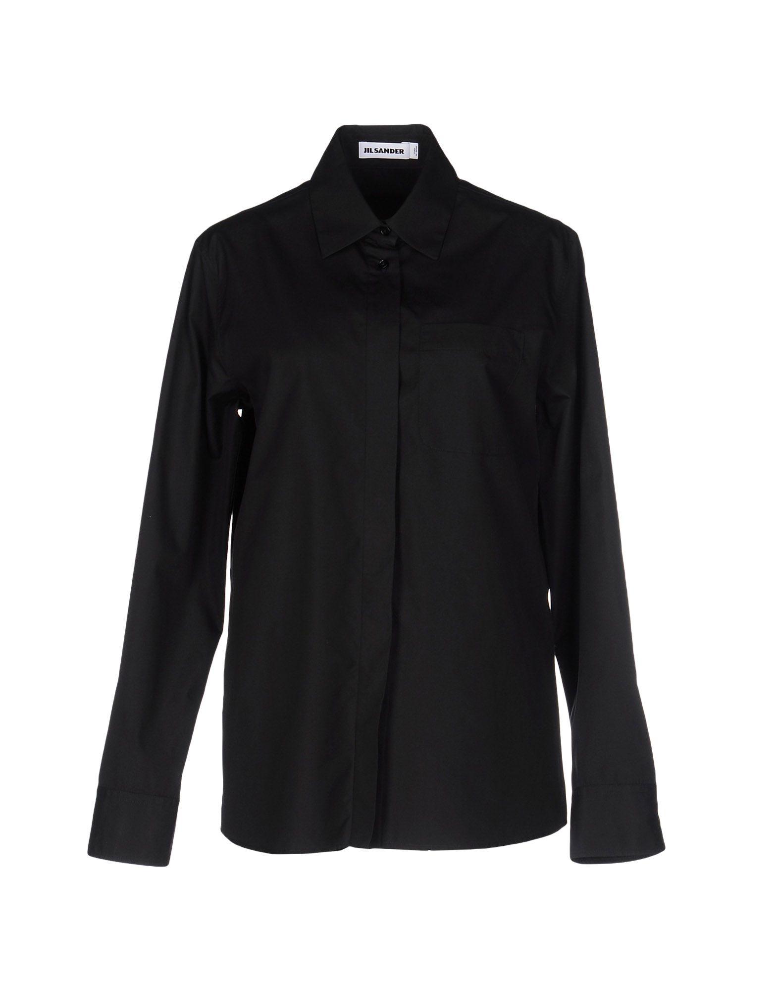 Lyst jil sander shirts in black for men save 38 for Jil sander mens shirt