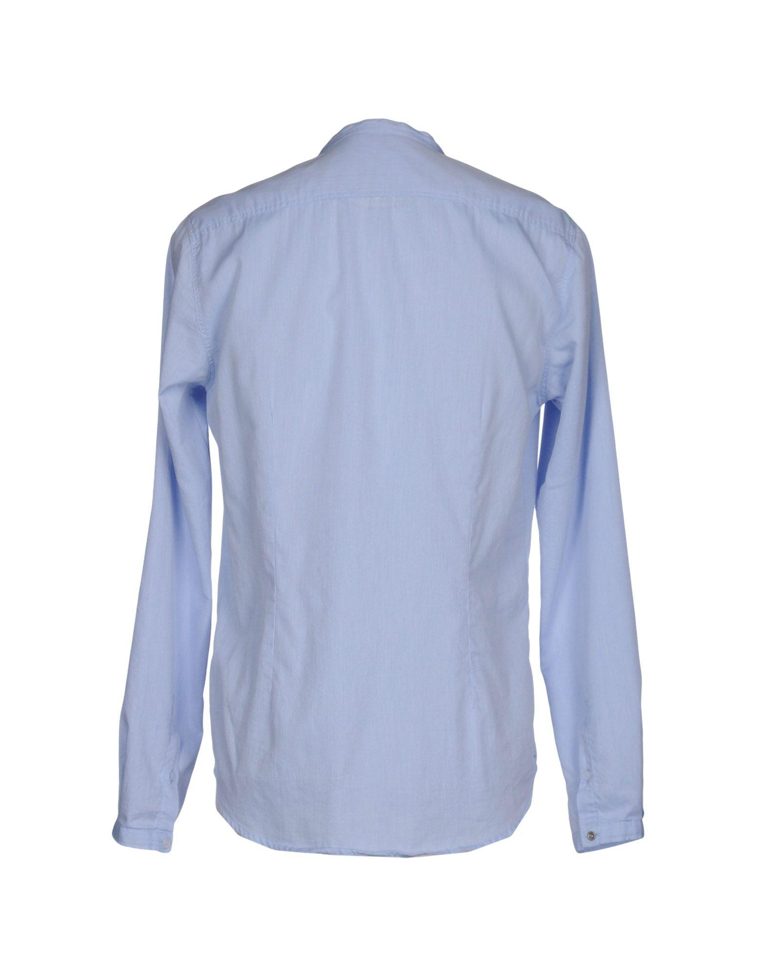 Officina 36 Shirt In Blue For Men Lyst