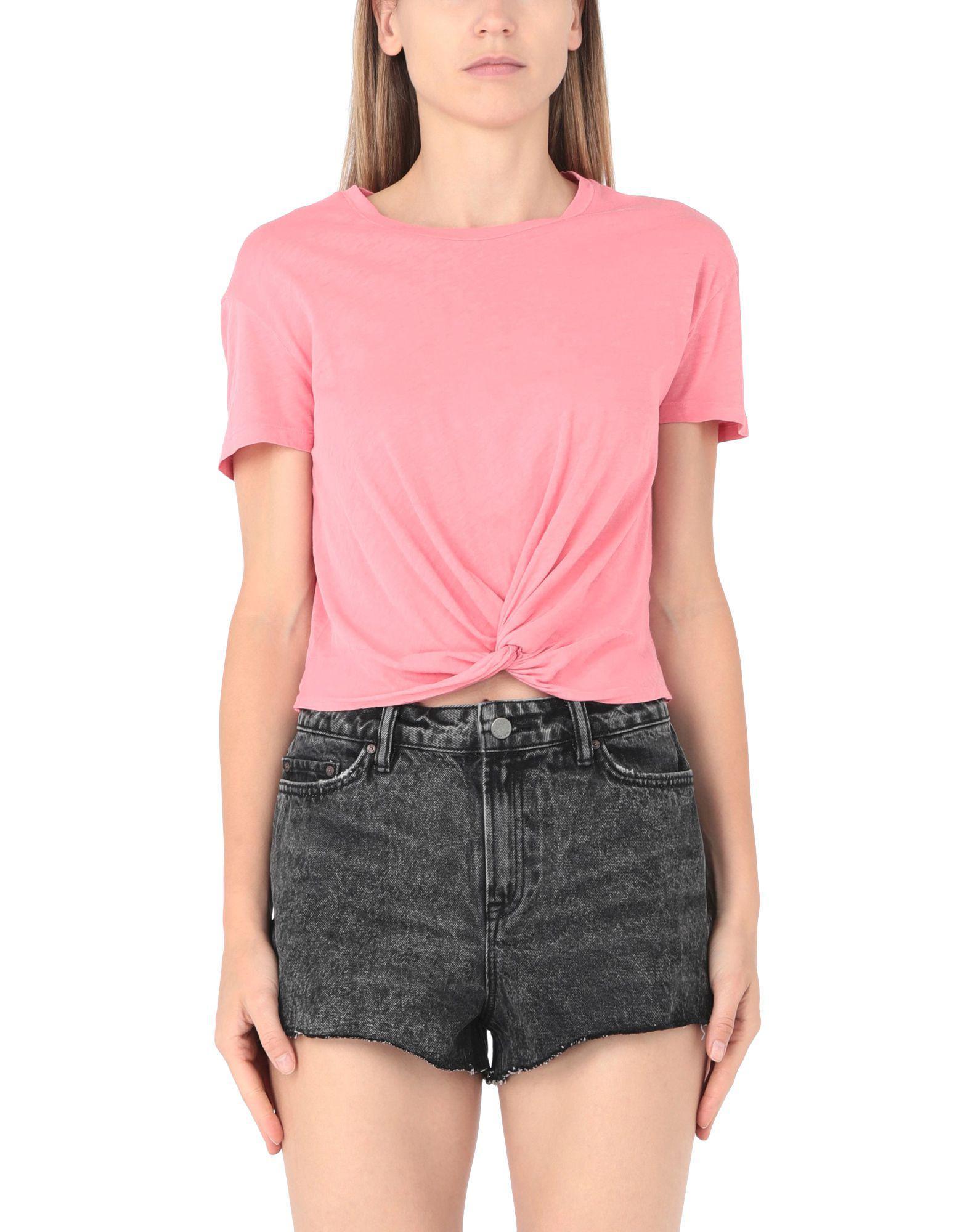 Camiseta AllSaints de Algodón de color Rosa