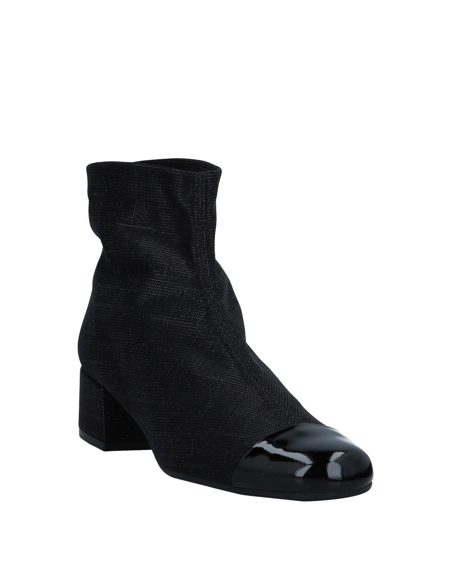 Botines de caña alta Pretty Ballerinas de Cuero de color Negro