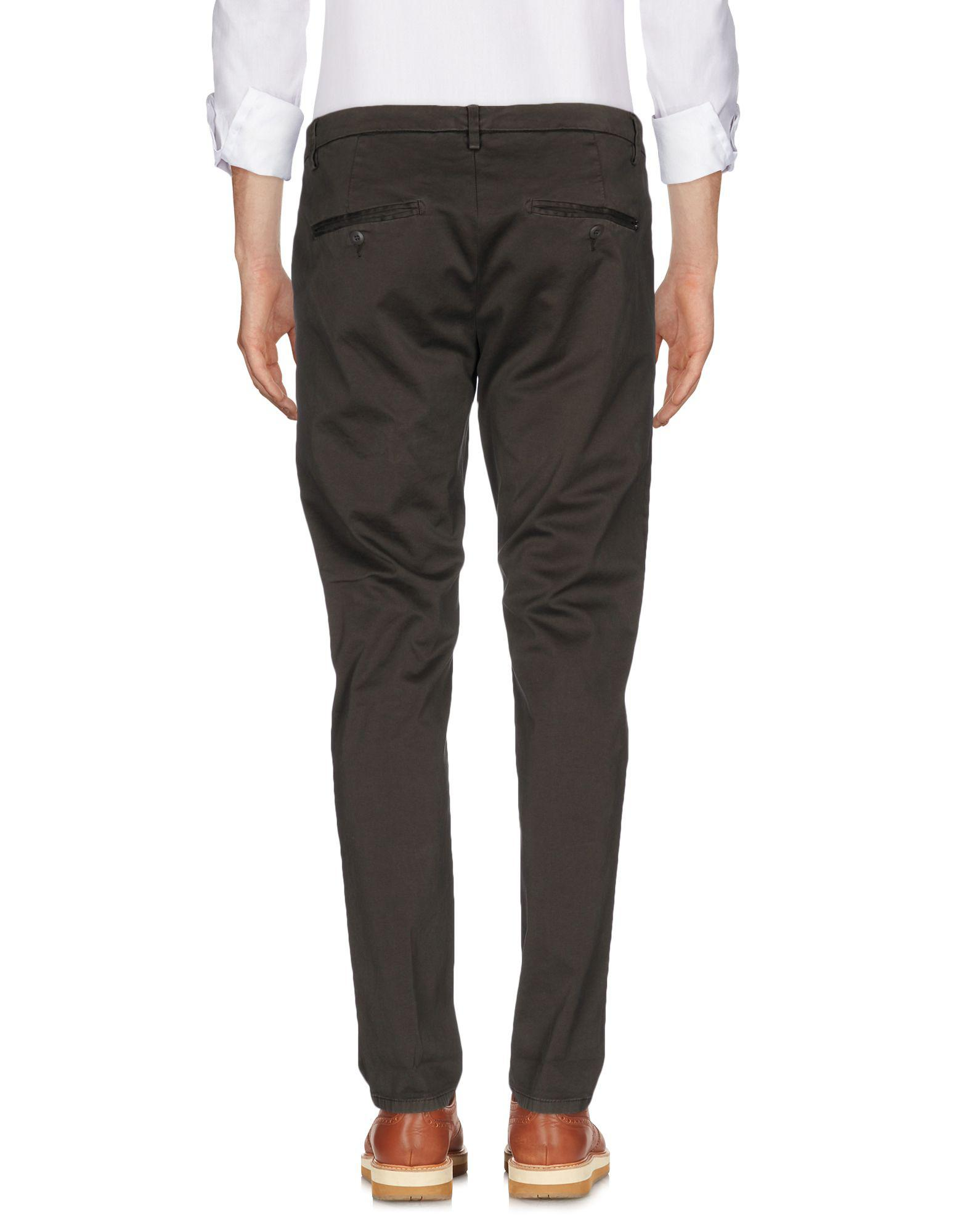 Dondup Cotton Casual Pants in Dark Brown (Brown) for Men