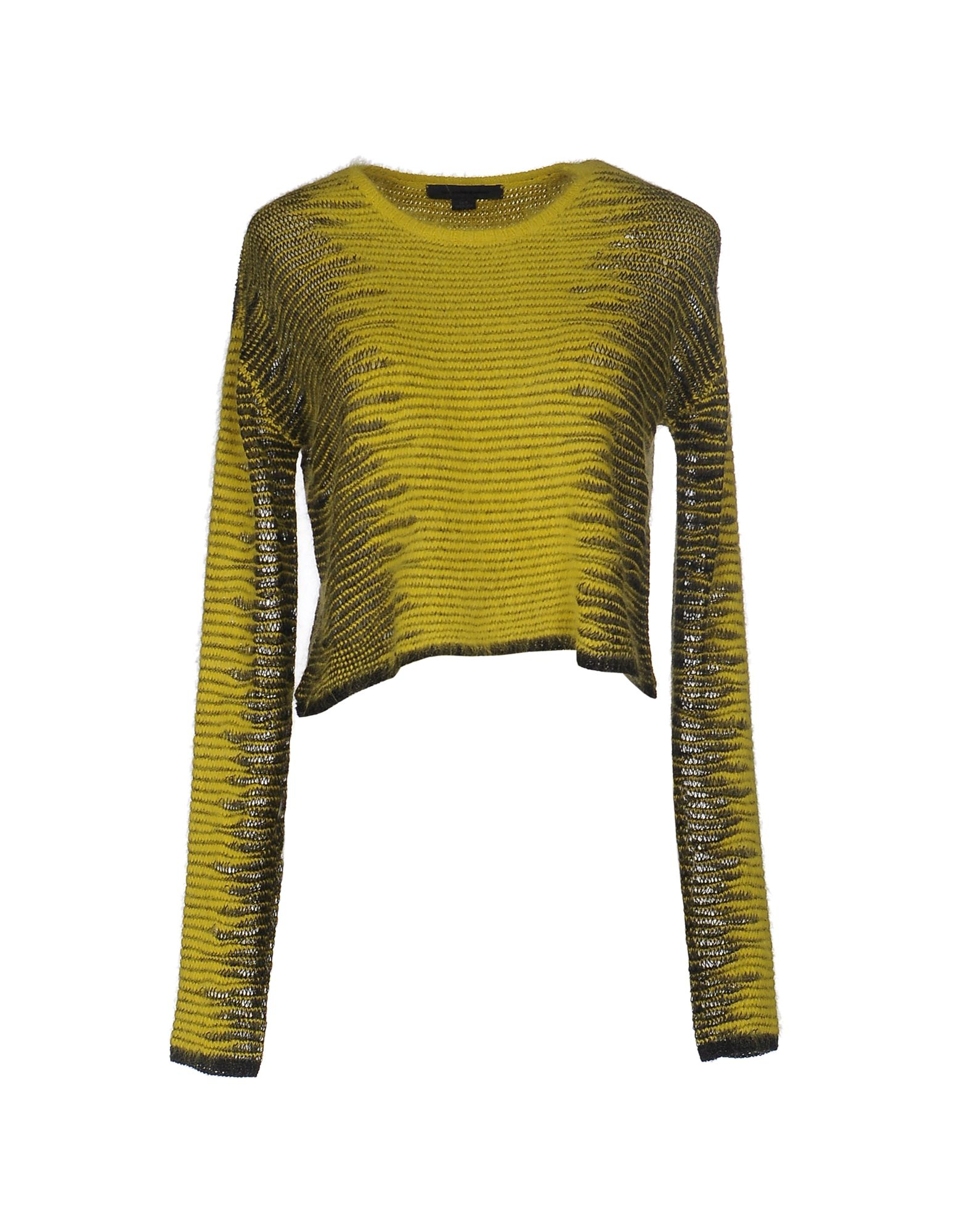 alexander wang sweater in yellow lyst. Black Bedroom Furniture Sets. Home Design Ideas