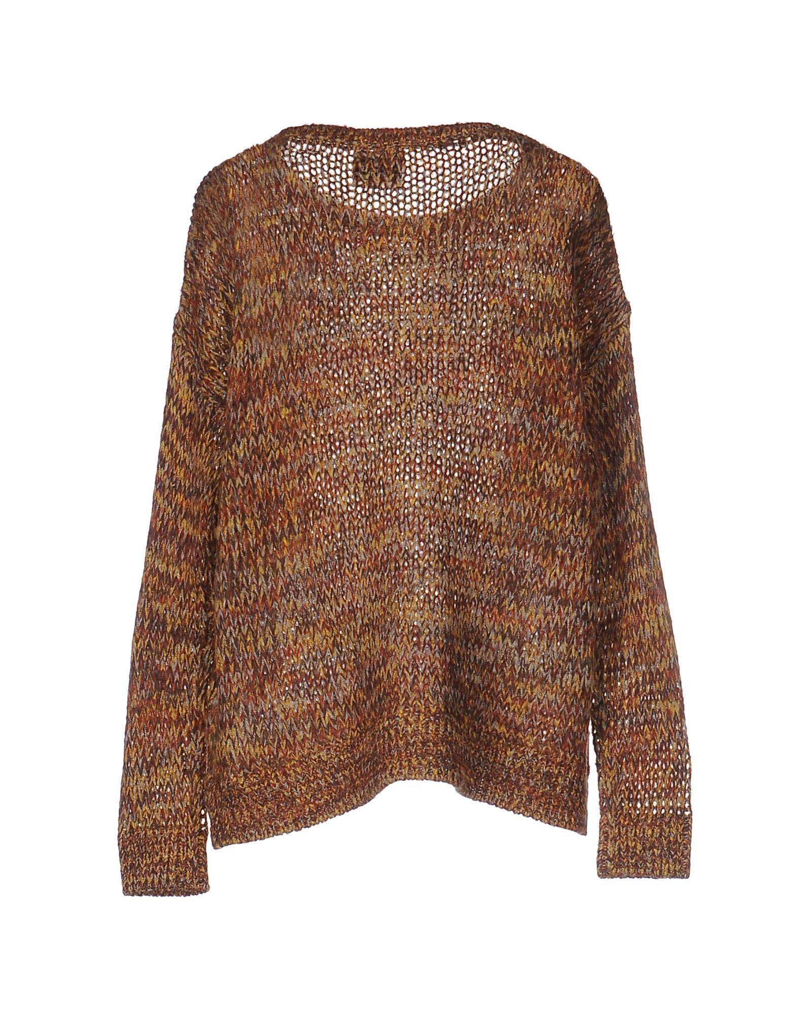 Vero Moda Knitting Patterns : Vero moda sweater in brown lyst