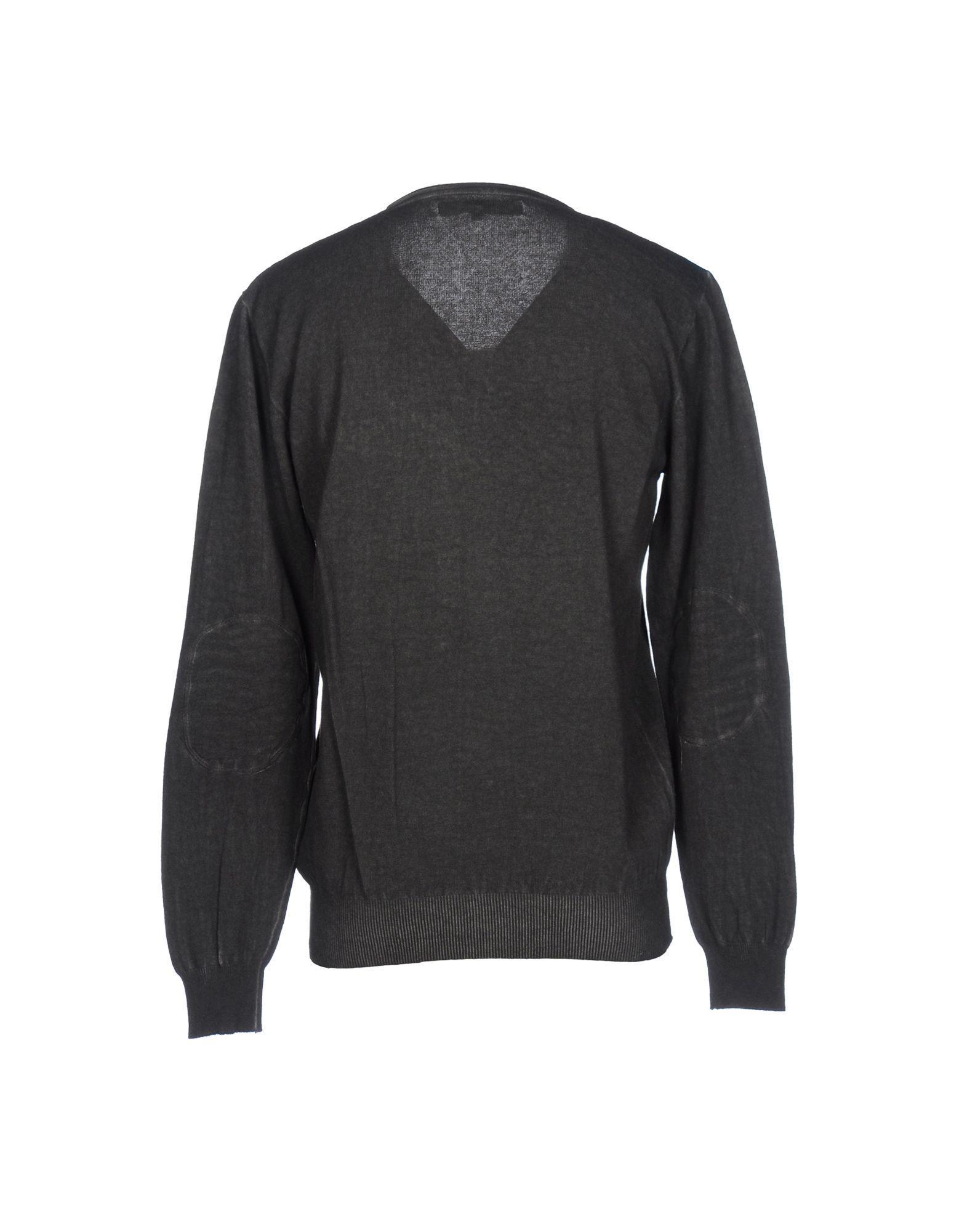 Clark Jeans Cotton Sweater in Lead (Grey) for Men