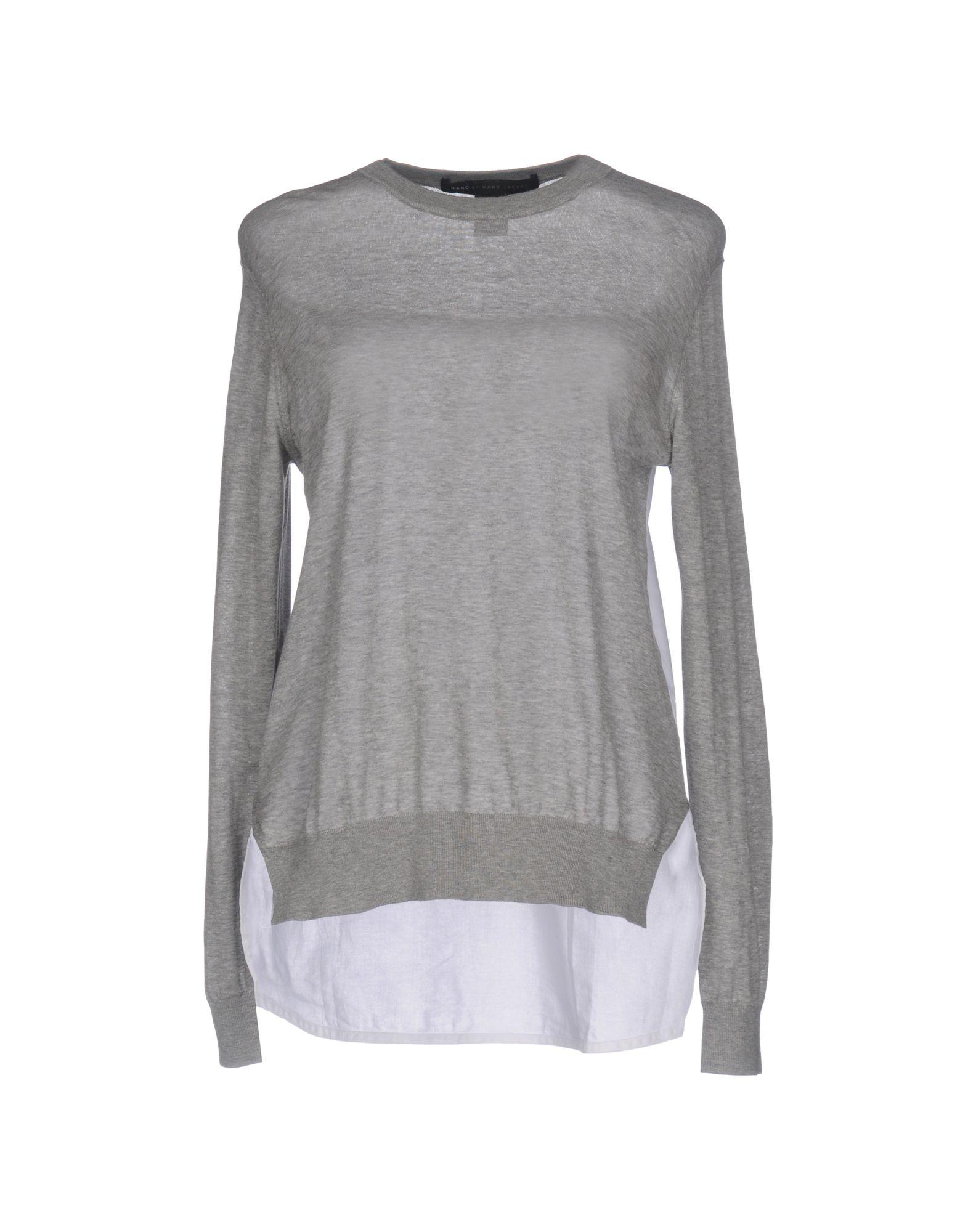 marc by marc jacobs sweater in gray lyst. Black Bedroom Furniture Sets. Home Design Ideas