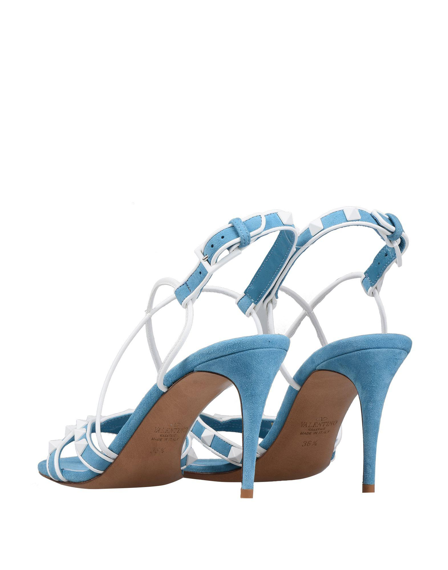 adb88937571d Lyst - Valentino Sandals in Blue