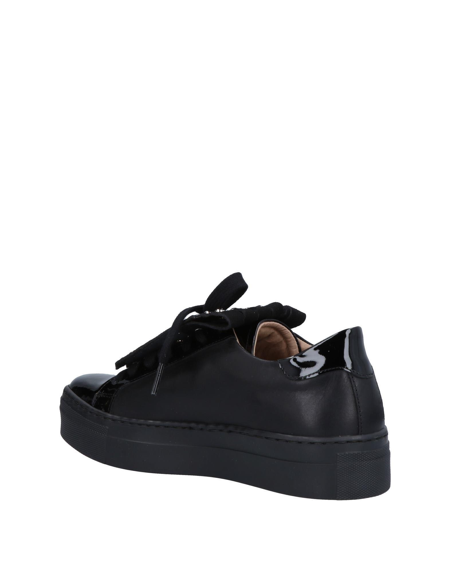 Sneakers & Deportivas Loretta Pettinari de Cuero de color Negro