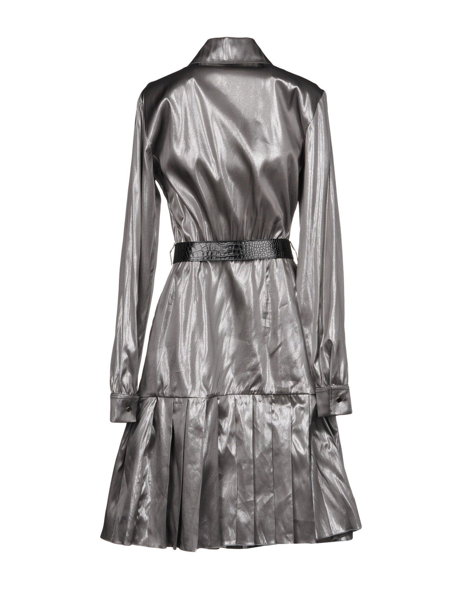 1017 ALYX 9SM Knielanges Kleid in Mettallic