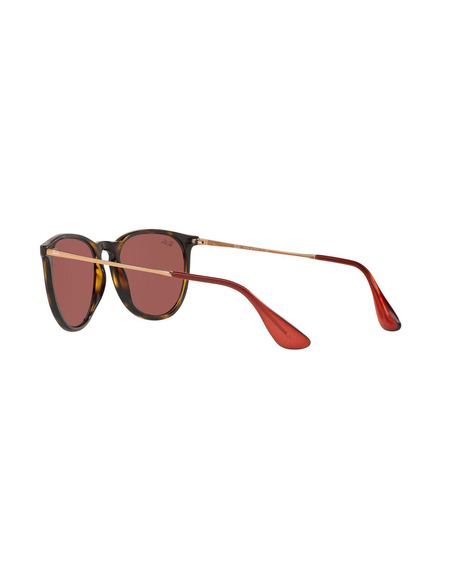 Ray-Ban Synthetic Sunglasses in Dark Brown (Brown)