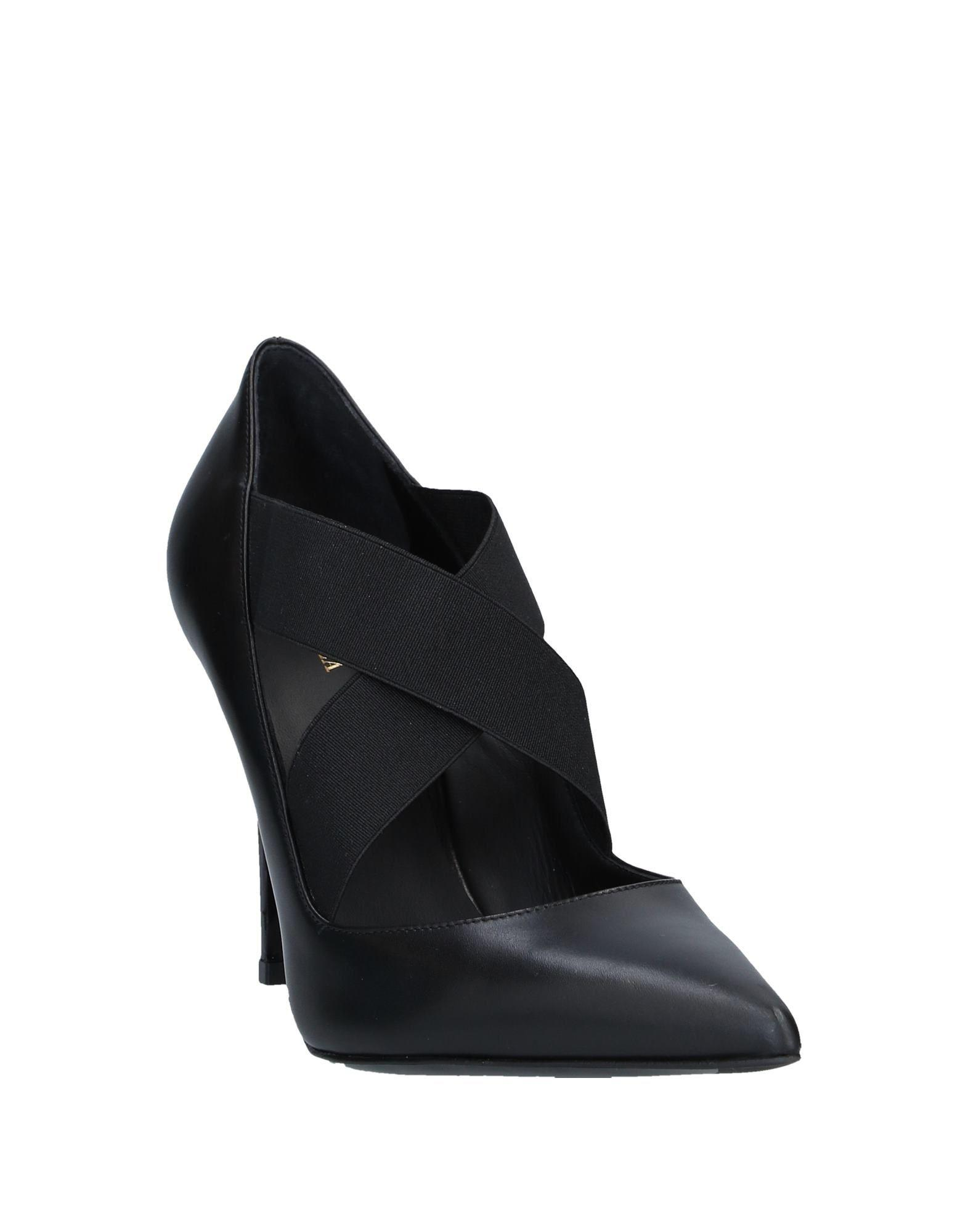 Zapatos de salón Le Silla de Cuero de color Negro