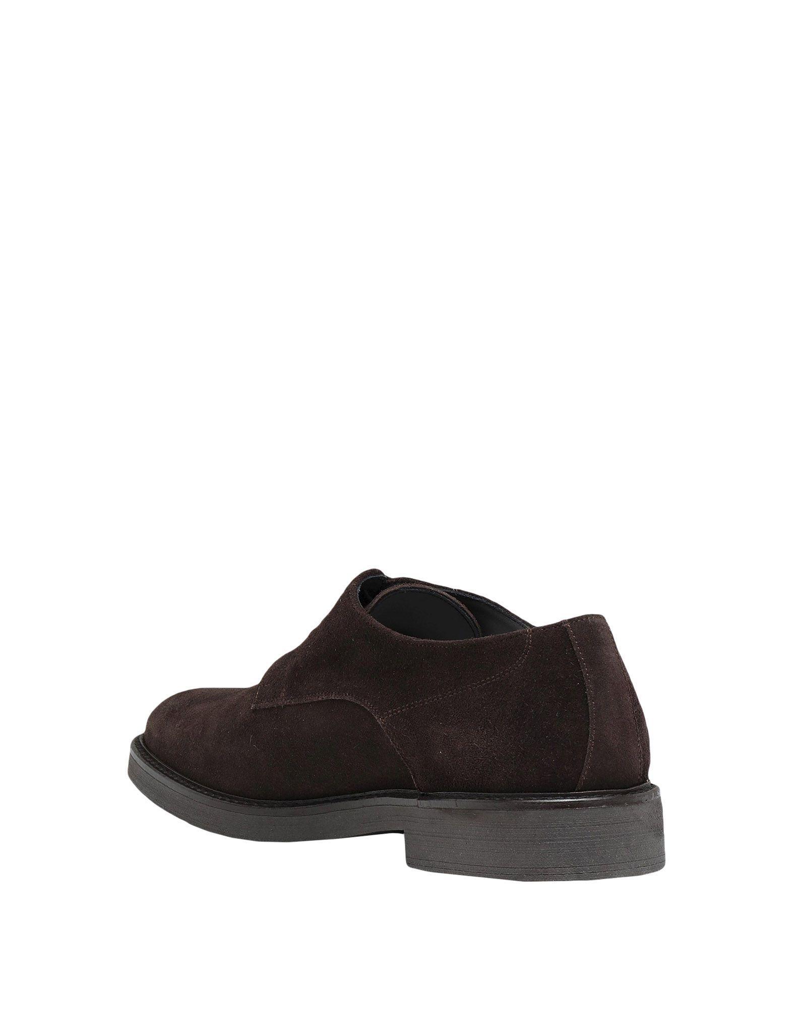 Chaussures à lacets Pollini pour homme en coloris Marron