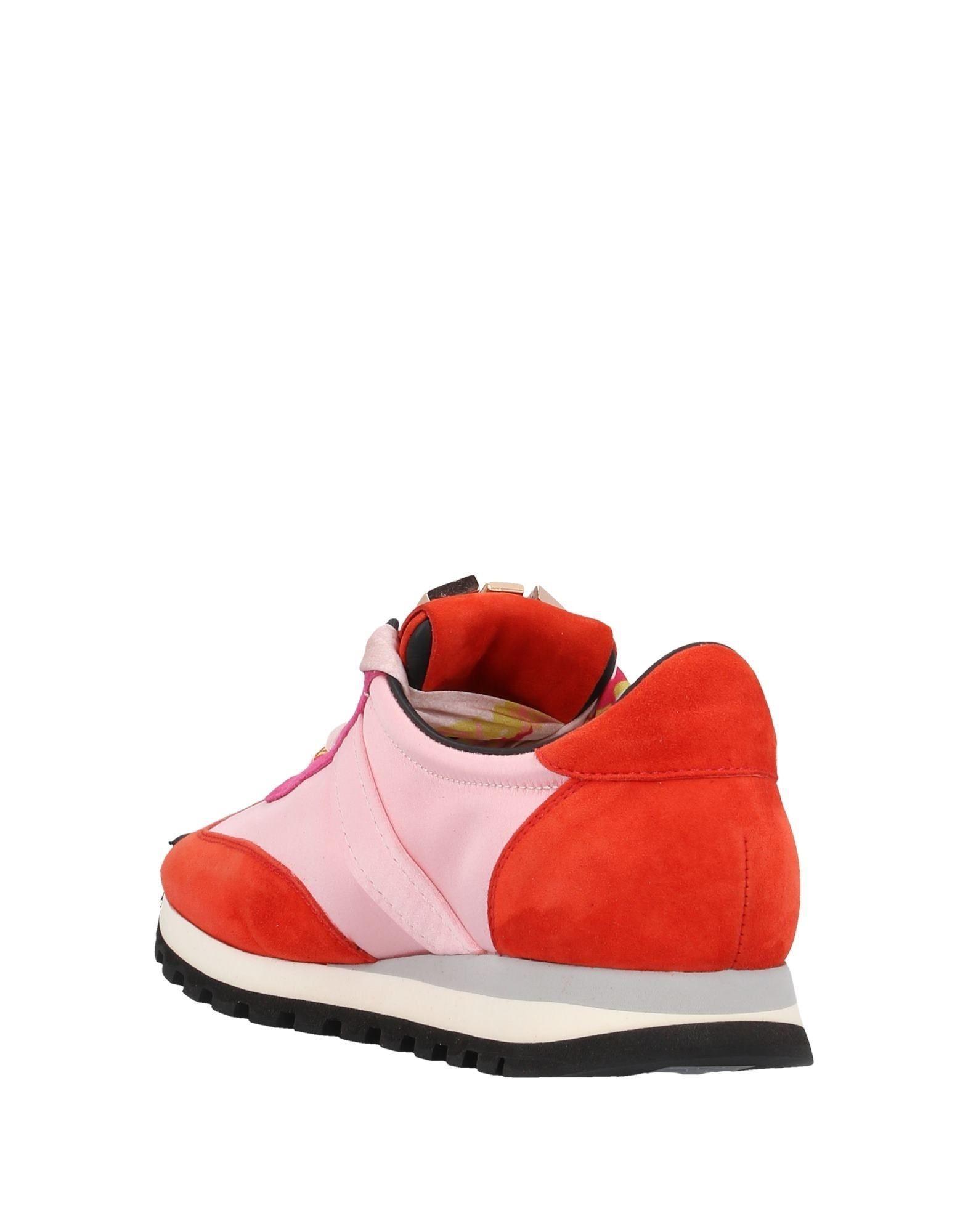 Sneakers & Deportivas Cesare Paciotti de Raso de color Rojo