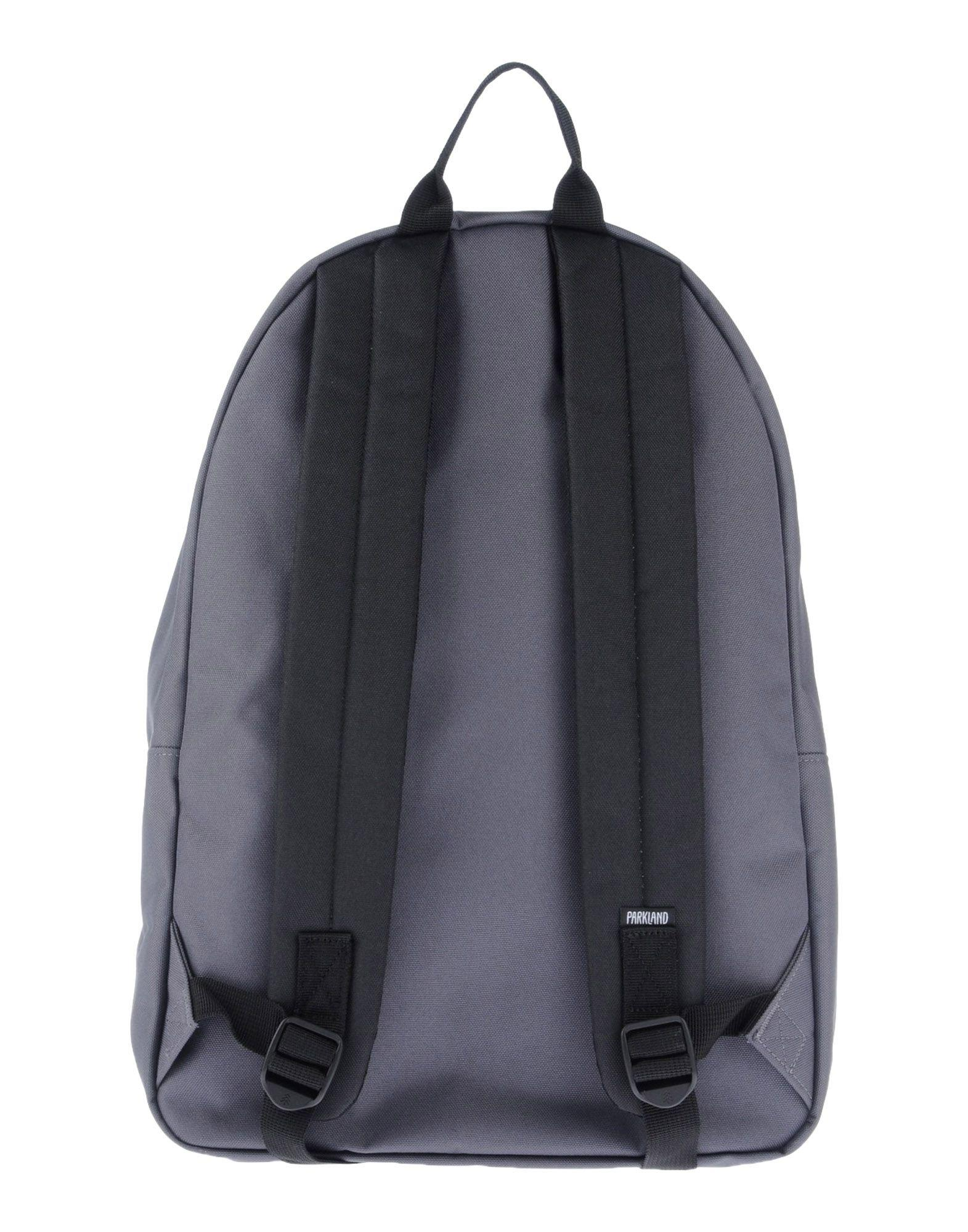 Parkland Leather Backpacks & Fanny Packs in Lead (Grey)