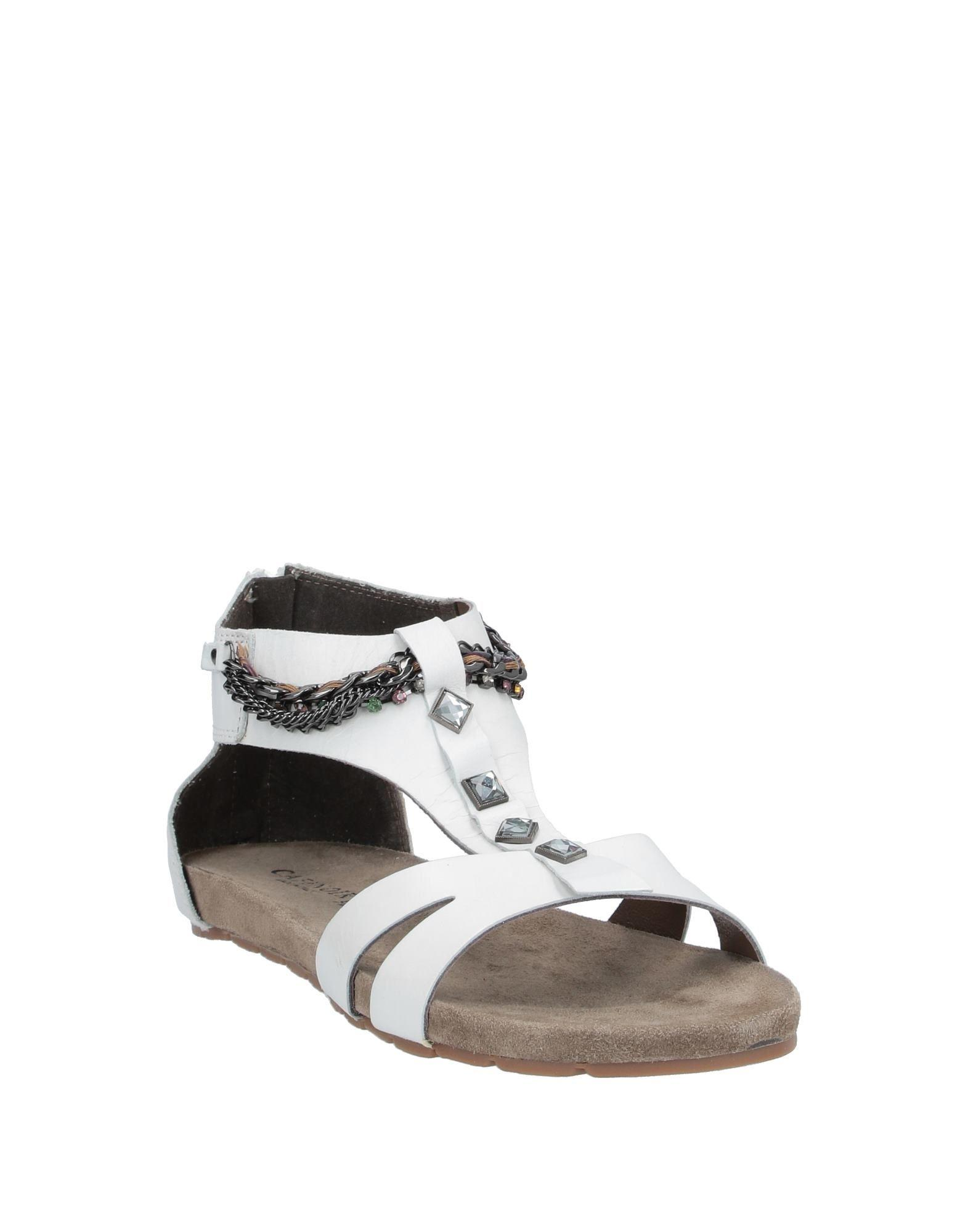 Sandales Cuir CafeNoir en coloris Blanc