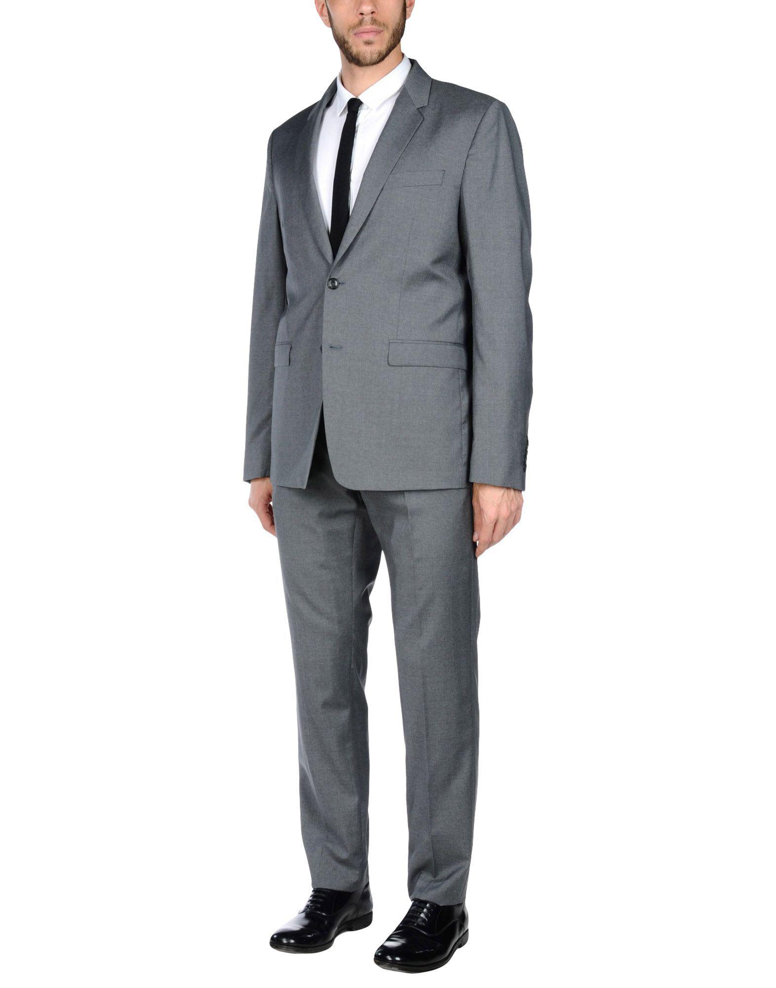 Lyst - Costume Mauro Grifoni pour homme en coloris Gris 445318947fe