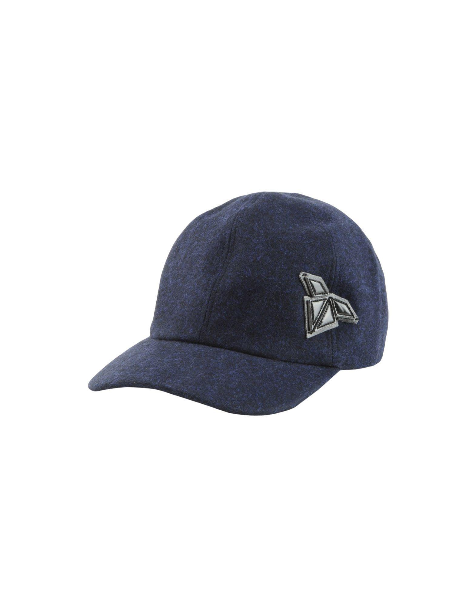 ad2e4b94cb3 Emporio Armani Hat in Blue for Men - Lyst