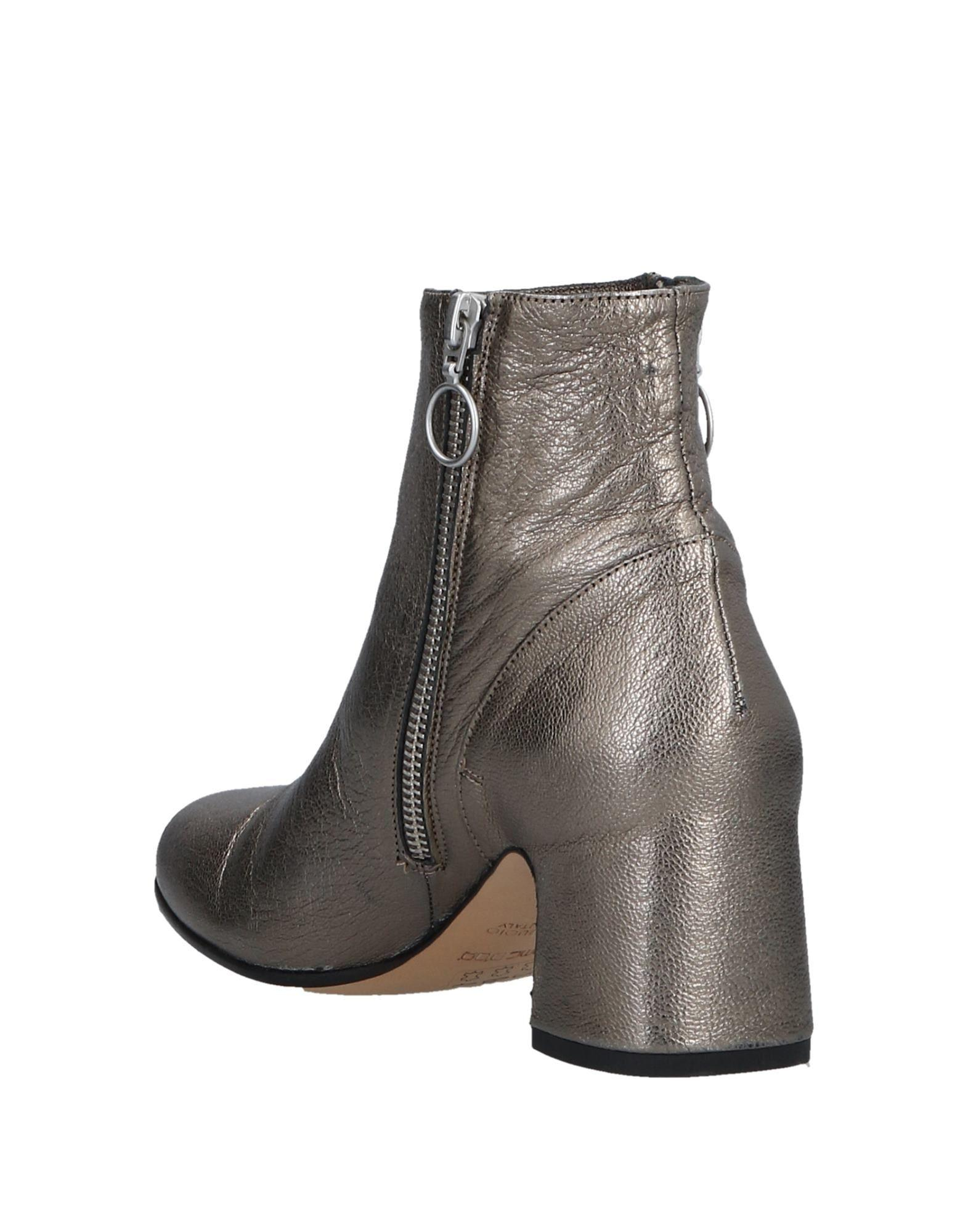 Pomme D'or Leather Ankle Boots