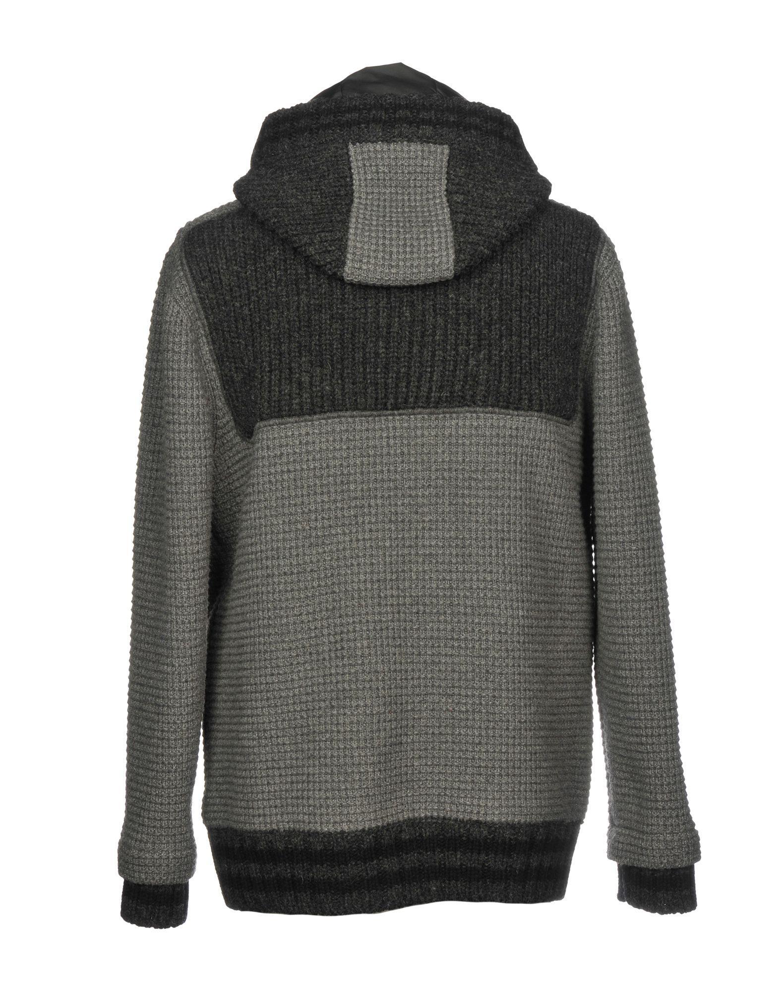 Bark Leather Jacket in Grey (Grey) for Men