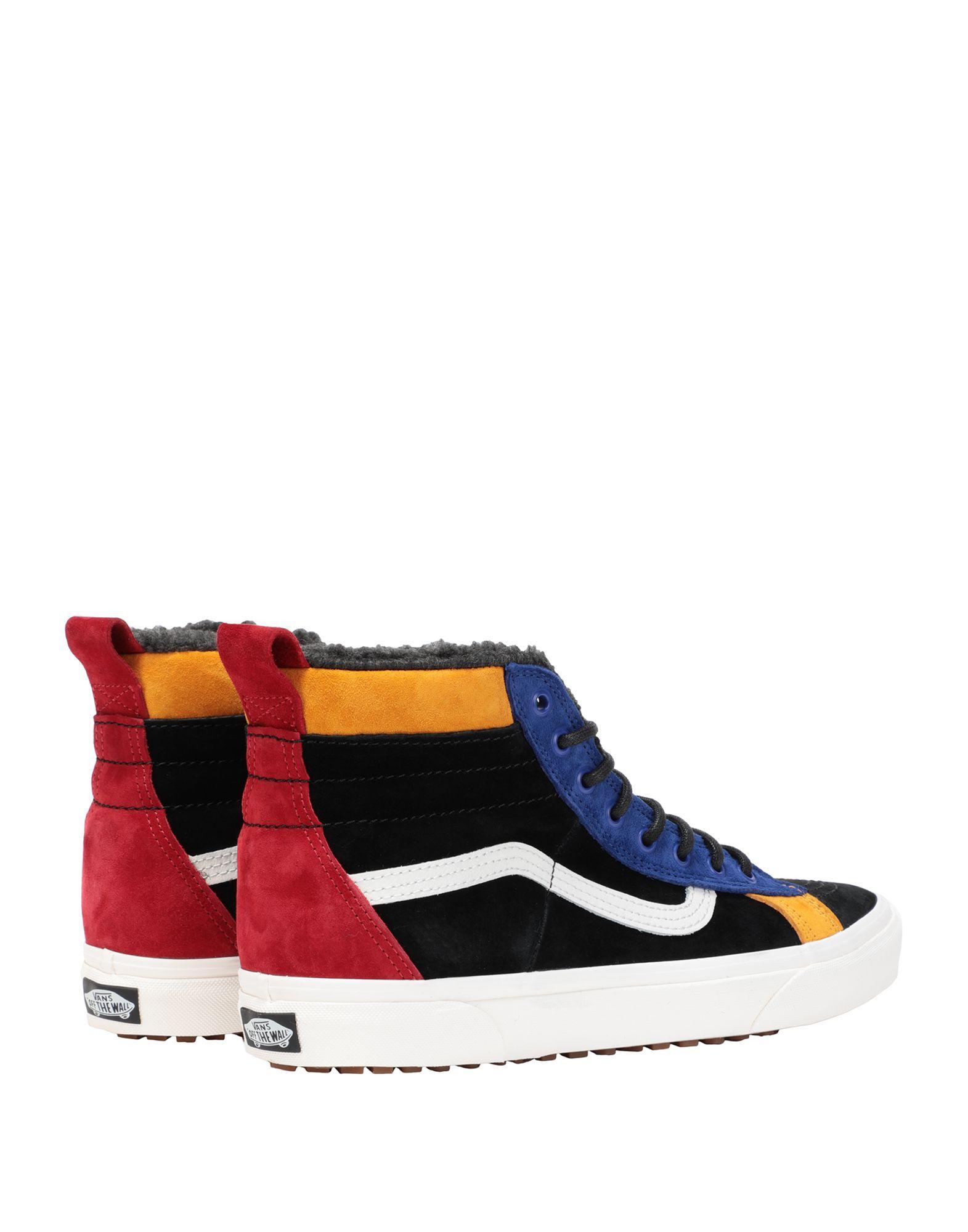 Sneakers abotinadas Vans de hombre de color Negro