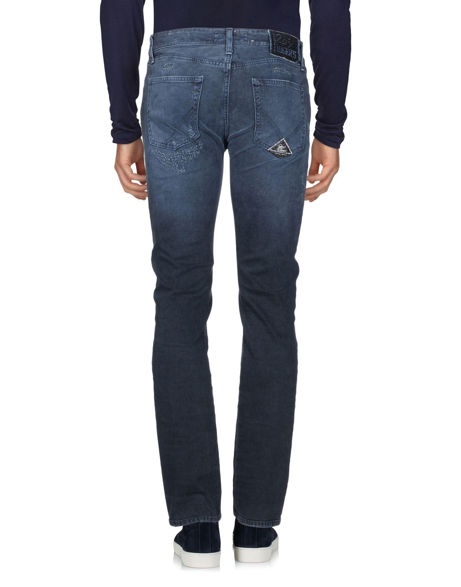Roy Rogers Denim Trousers in Slate Blue (Blue) for Men