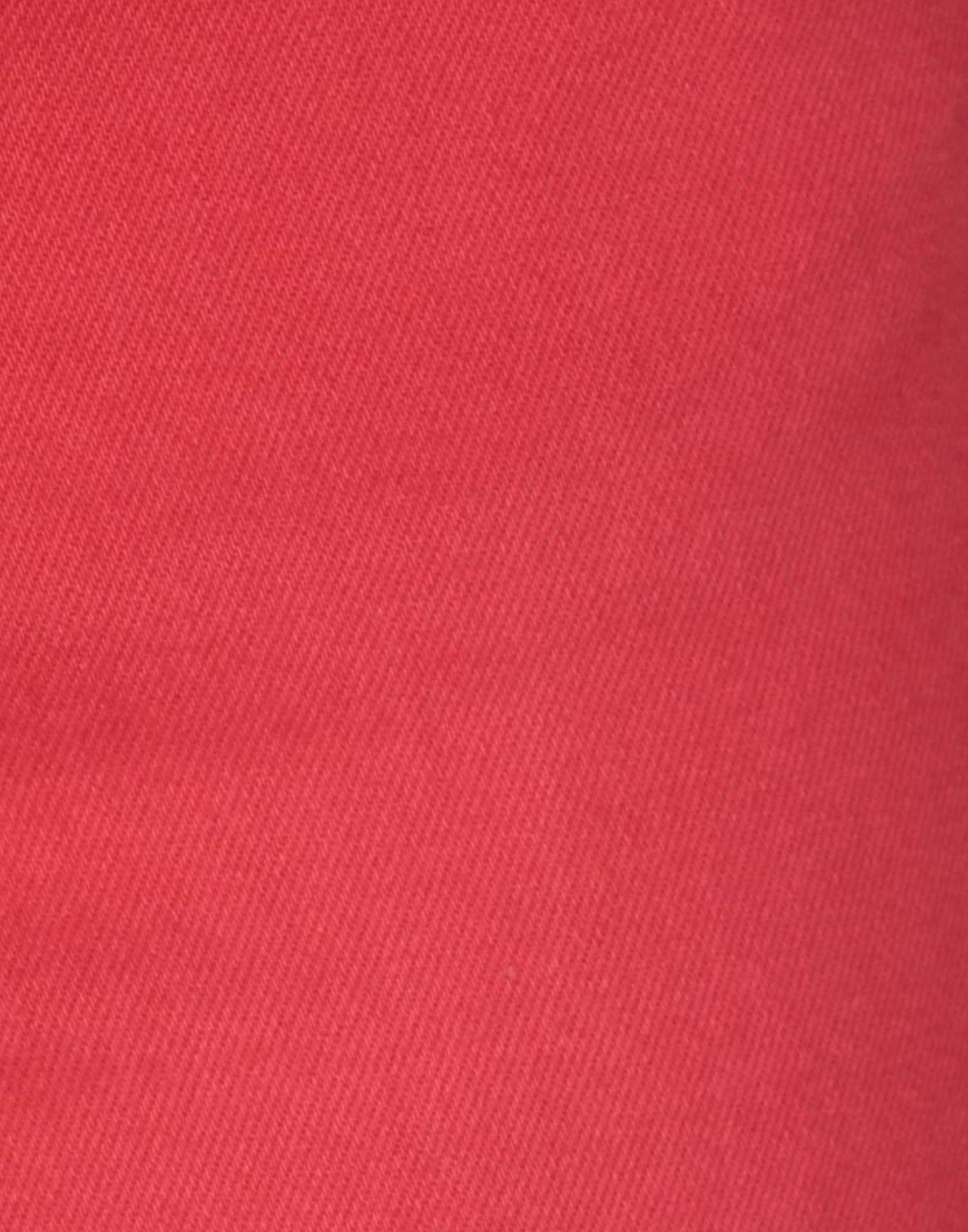 Pantalones vaqueros Aglini de Denim de color Rojo