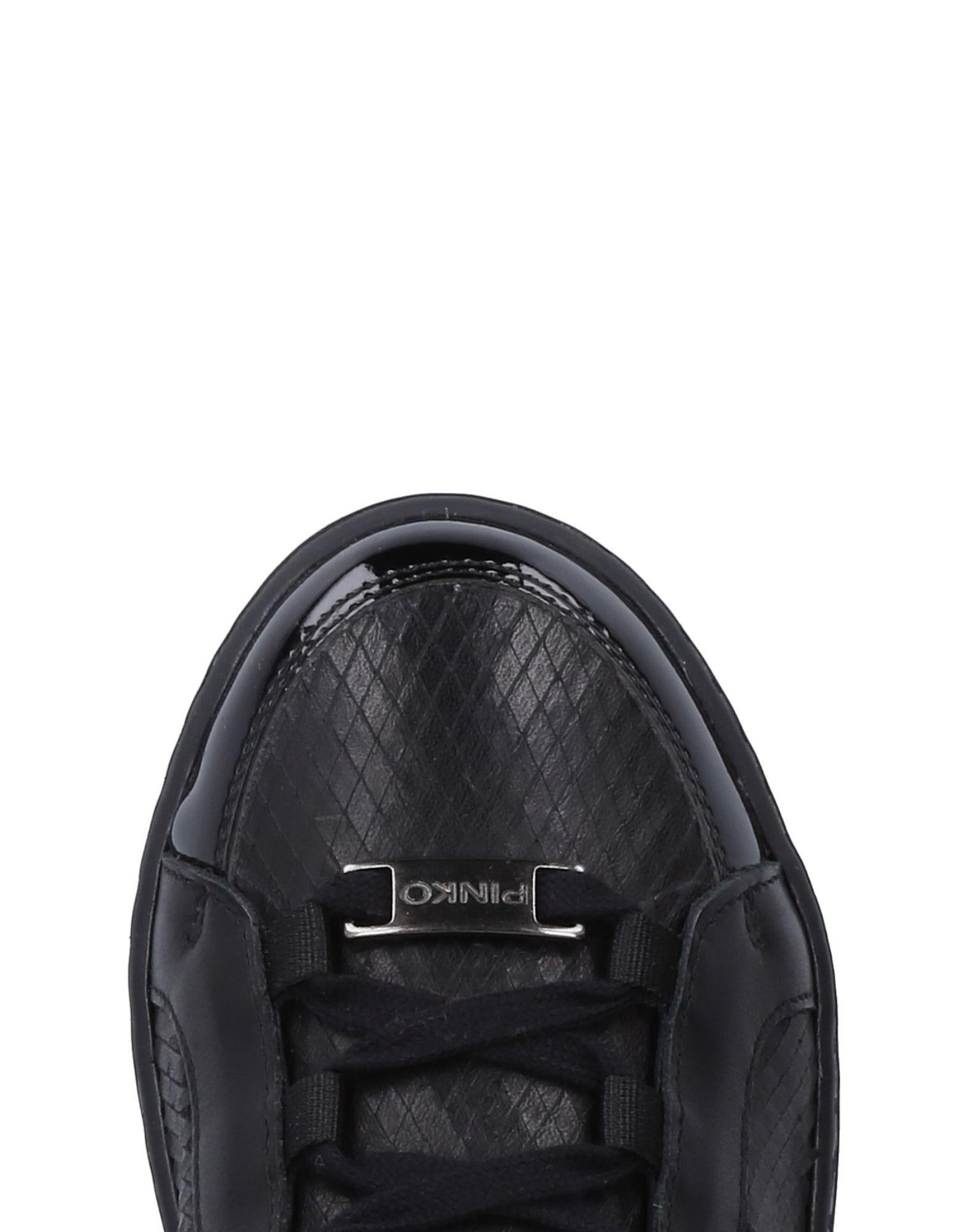Sneakers & Deportivas Pinko de Cuero de color Negro