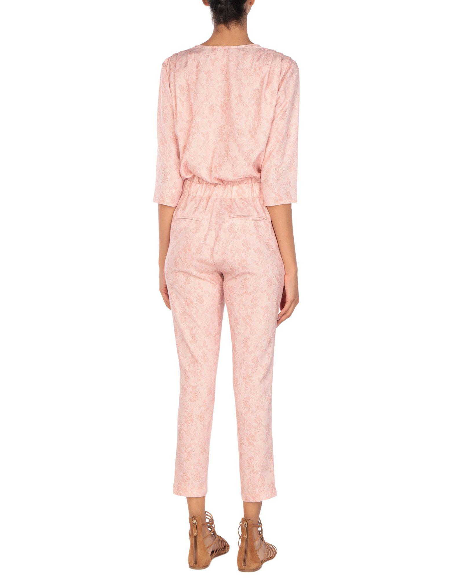 968bf754802 Lyst - Soallure Jumpsuit in Pink