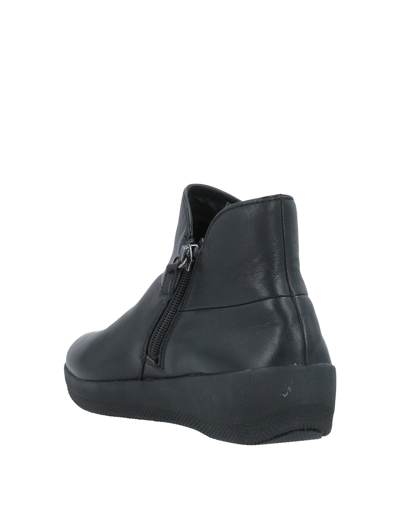 Botines de caña alta Fitflop de color Negro