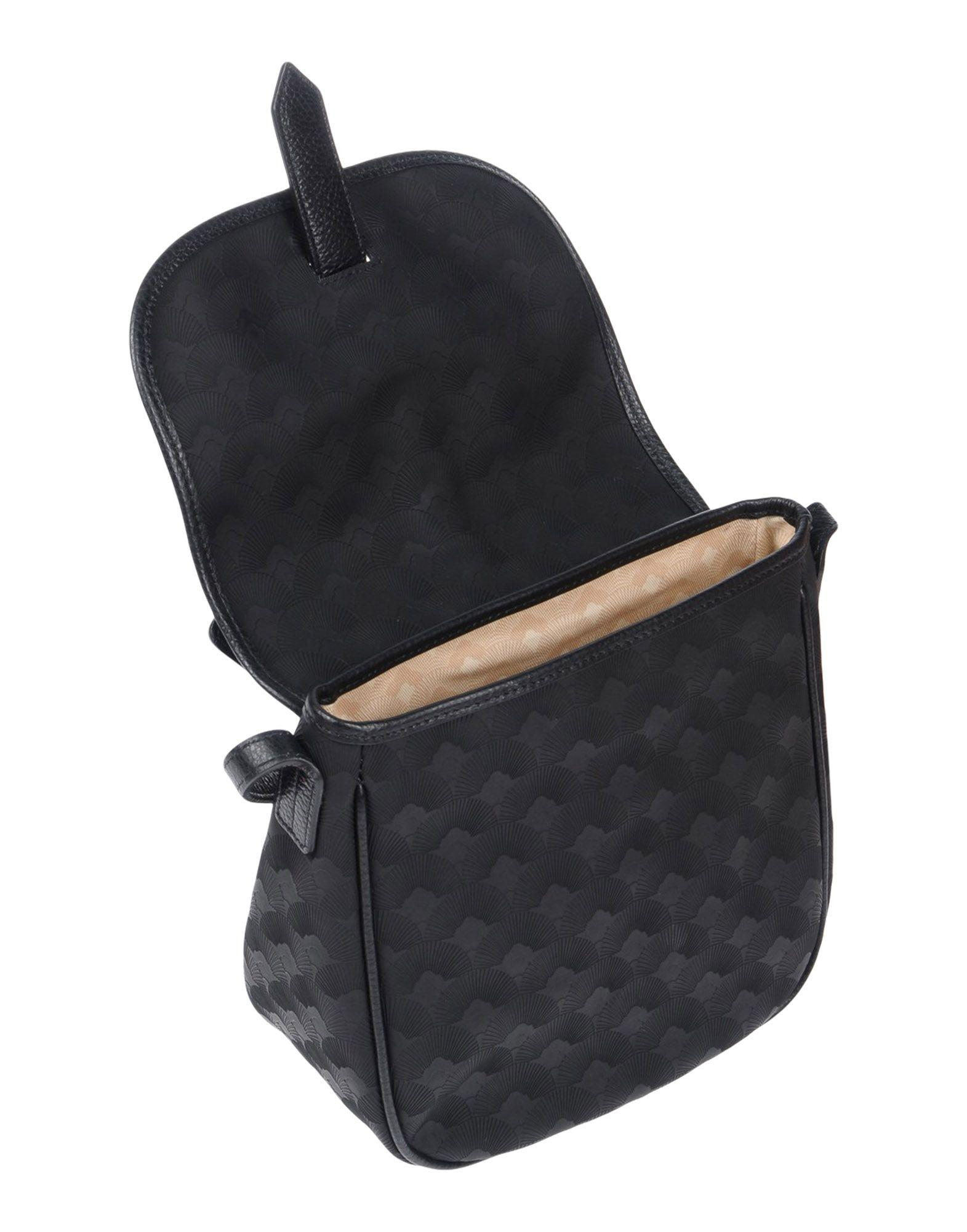 289 by SARA GIUNTI Leather Cross-body Bags in Black