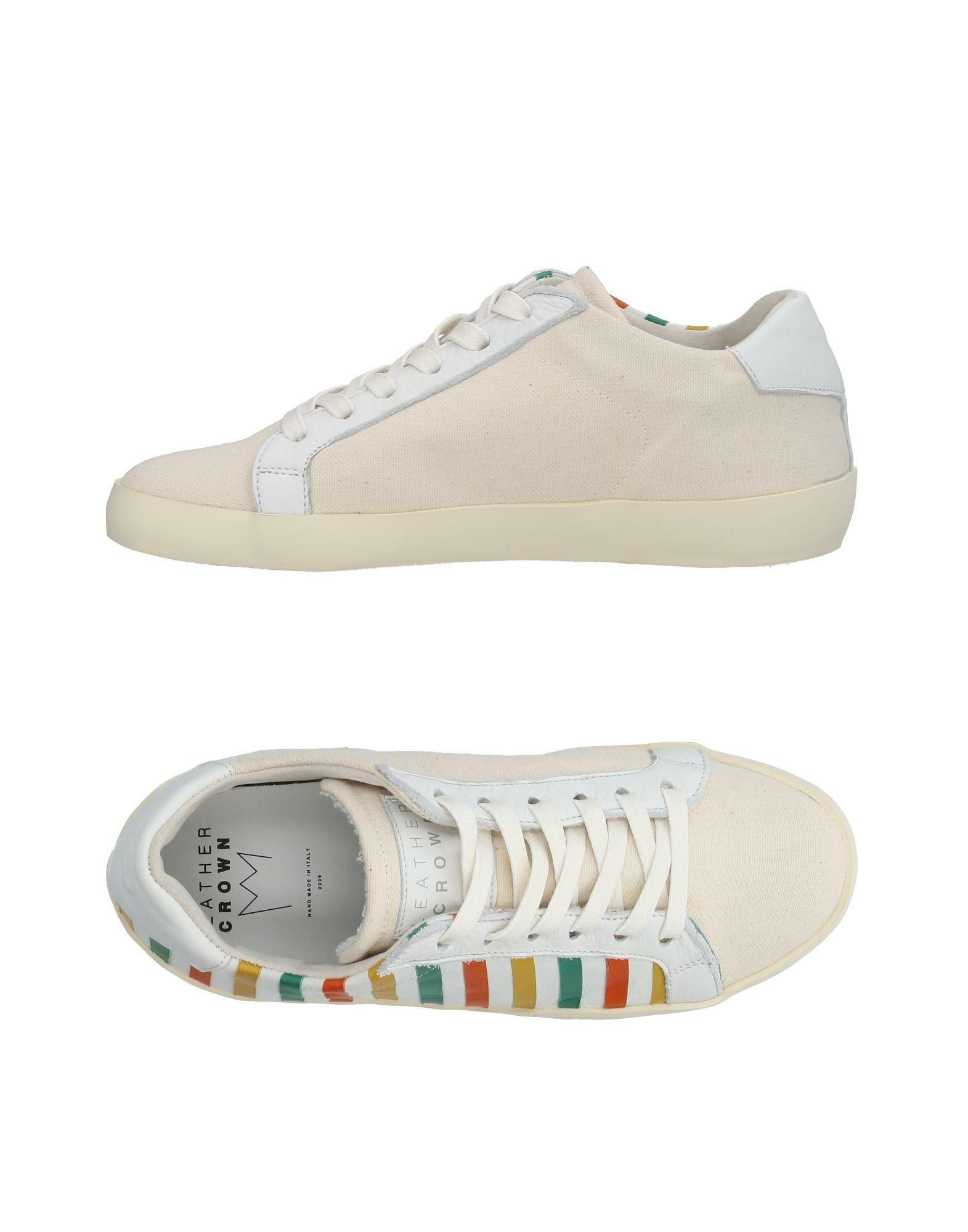 FOOTWEAR - Low-tops & sneakers Leather Crown 5DWM5Hb9J