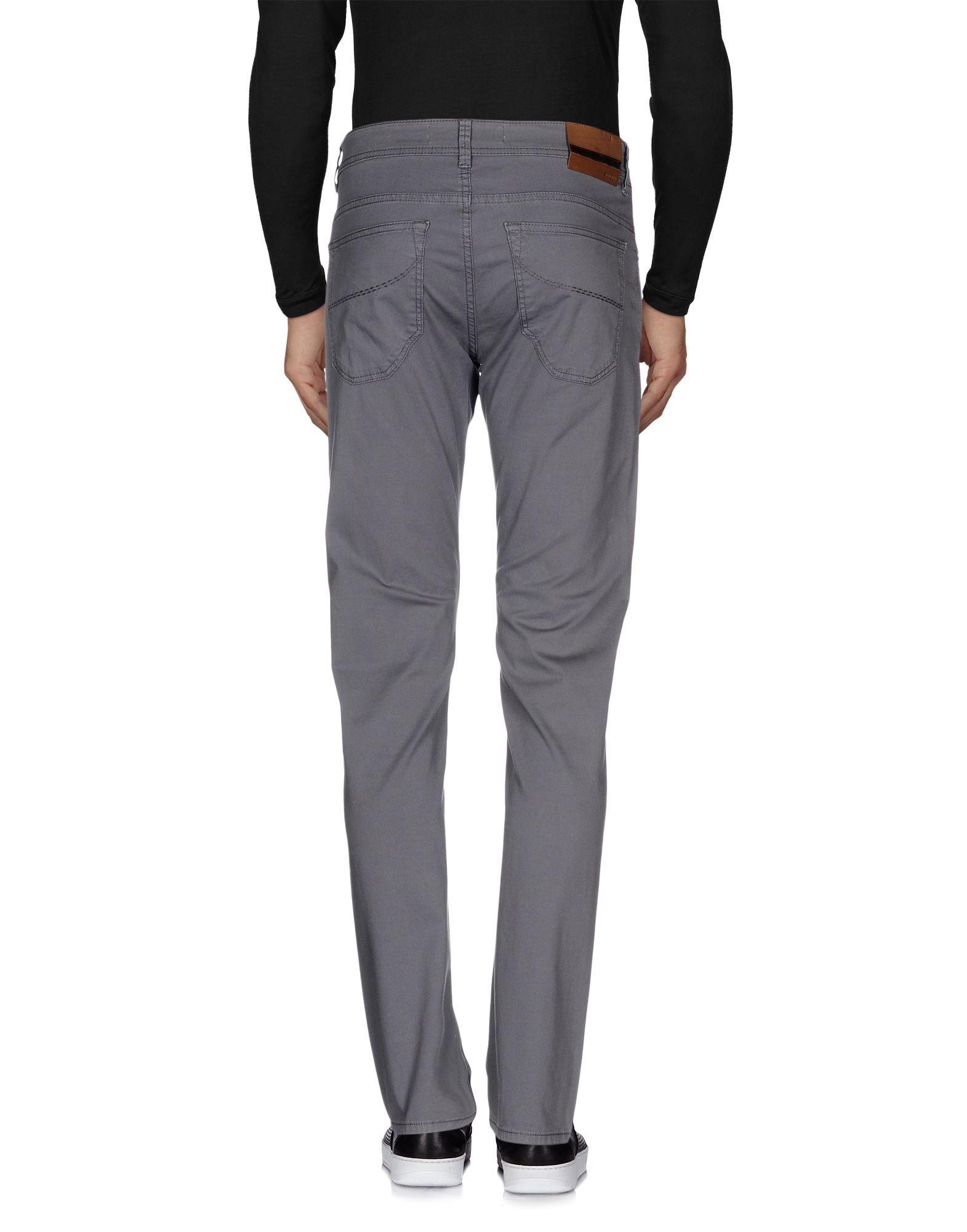 Siviglia Cotton Casual Trouser in Grey (Grey) for Men