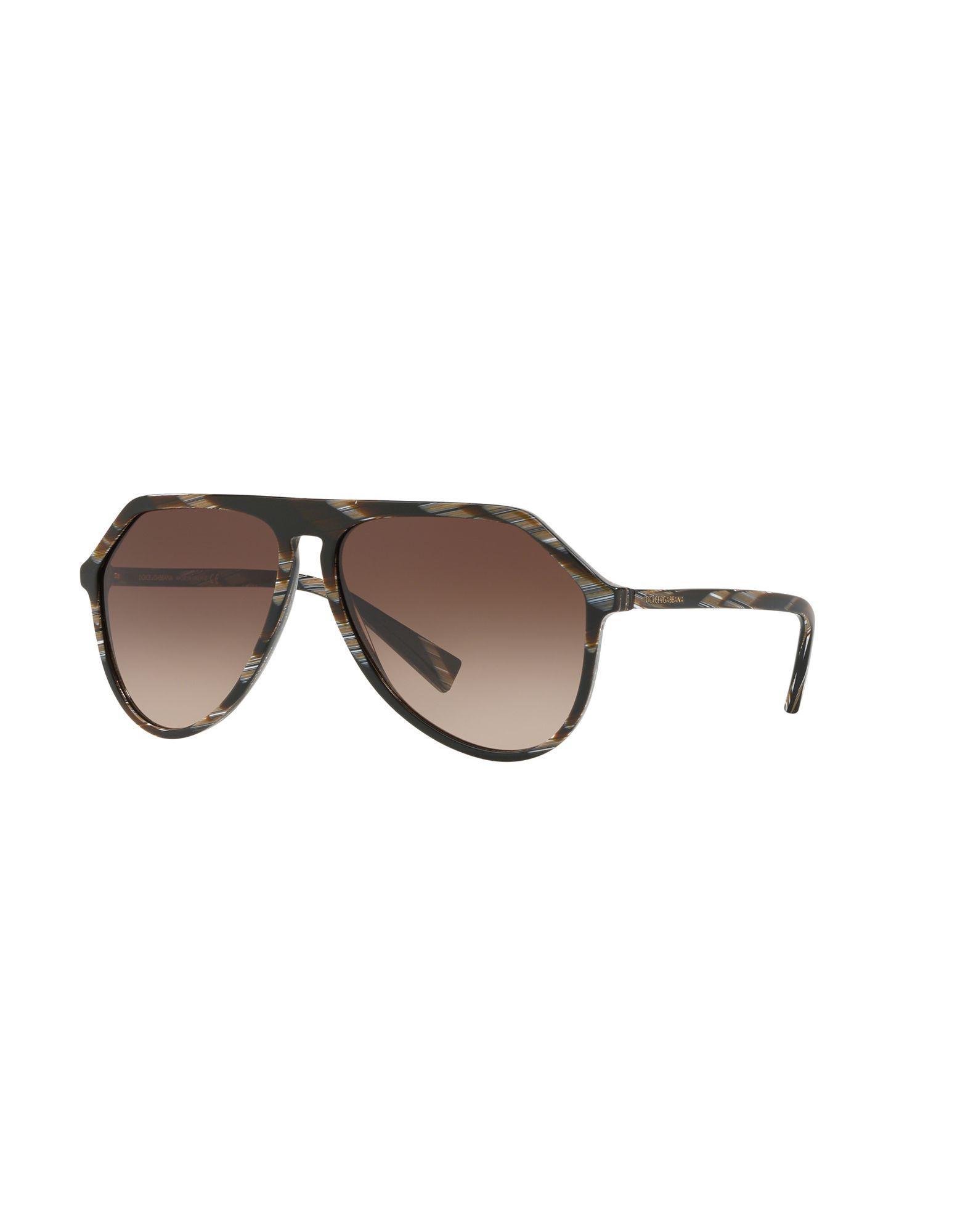 5e6fcbc01b Gafas de sol Dolce & Gabbana de hombre de color Marrón - Lyst