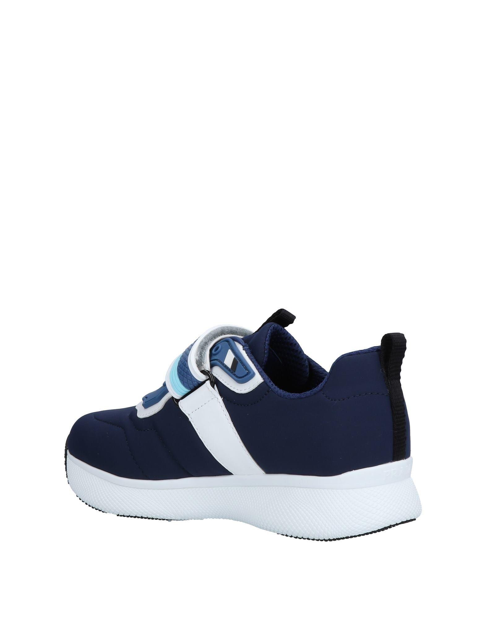 Prada Sport Neoprene Low-tops & Sneakers in Dark Blue (Blue)