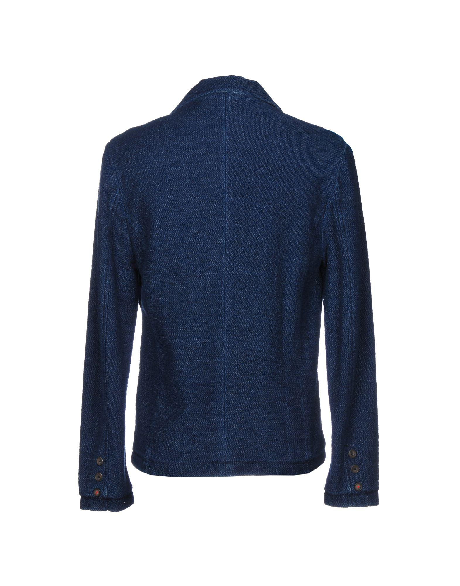Pepe Jeans Cotton Blazer in Blue for Men
