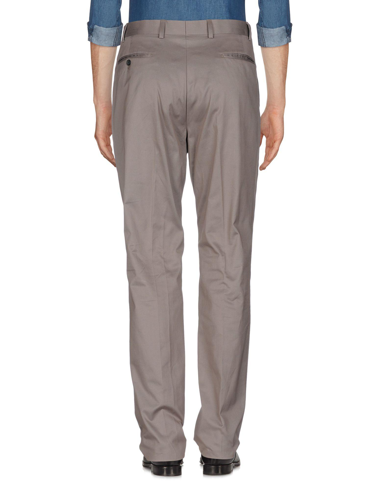 Richard James Cotton Casual Trouser in Grey (Grey) for Men