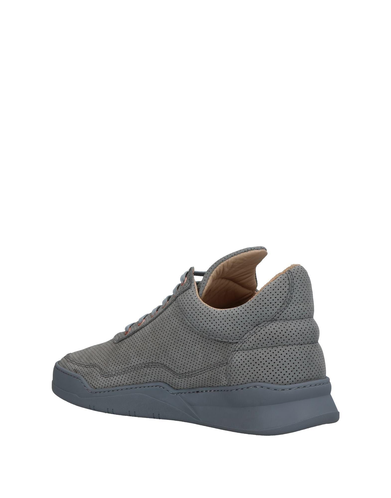 Filling Pieces Leather Low-tops & Sneakers in Grey (Grey)
