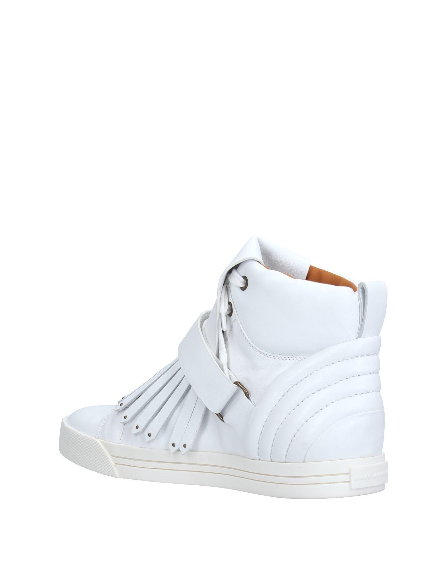 Marc Jacobs Leather High-tops & Sneakers in White