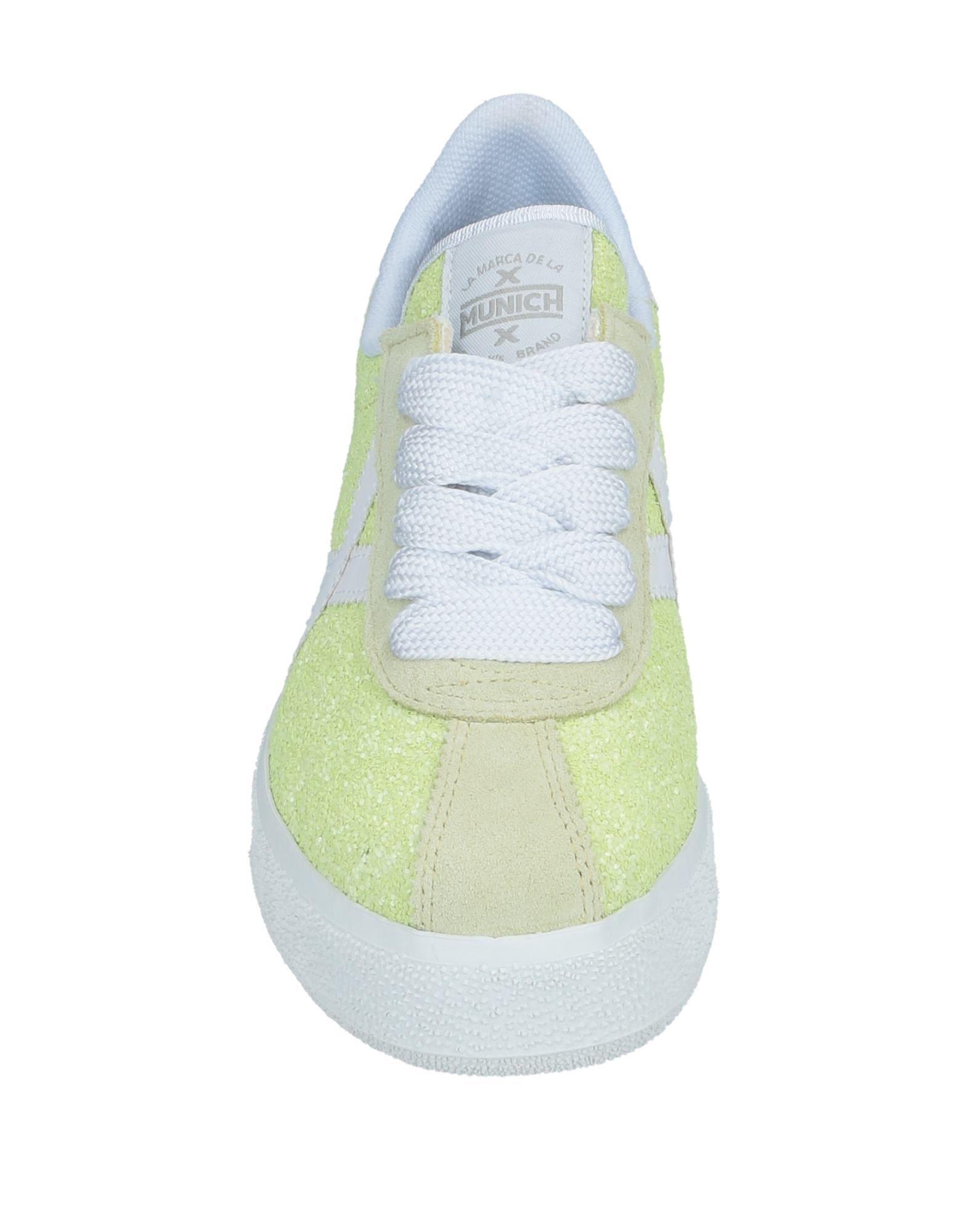 Sneakers & Deportivas Munich de Cuero de color Verde