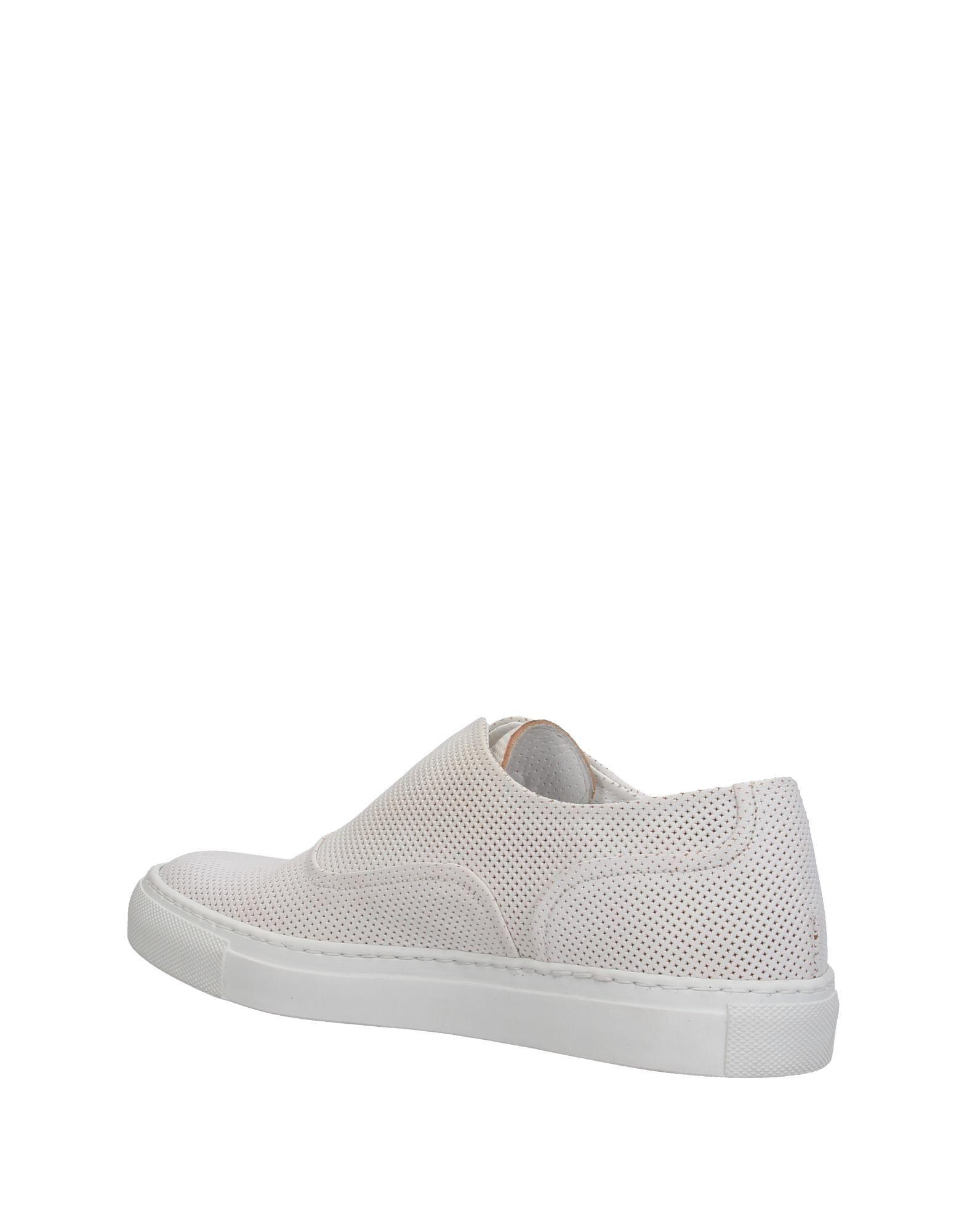 Sartore Leather Low-tops & Sneakers in White