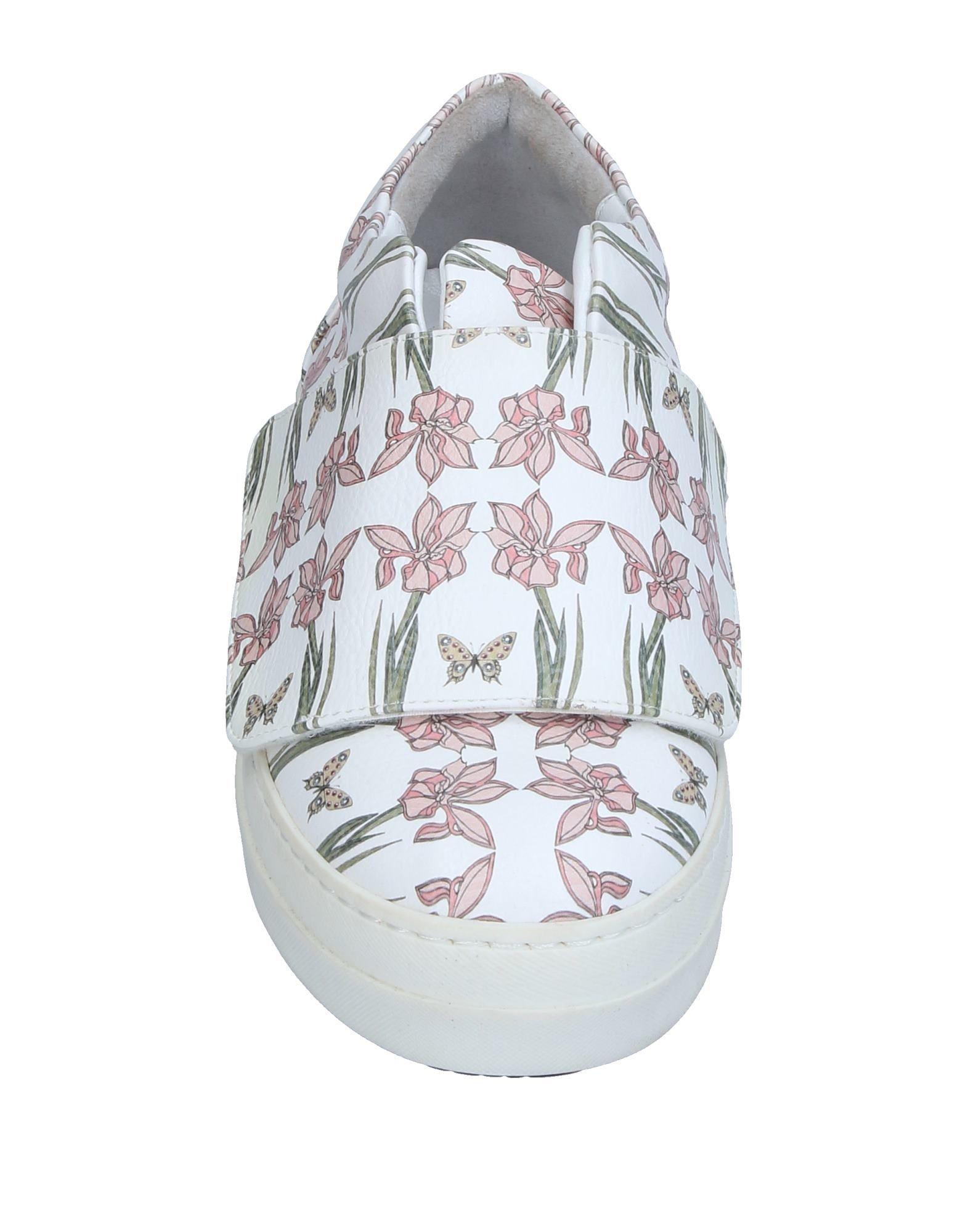 Marella Leather Low-tops & Sneakers in White