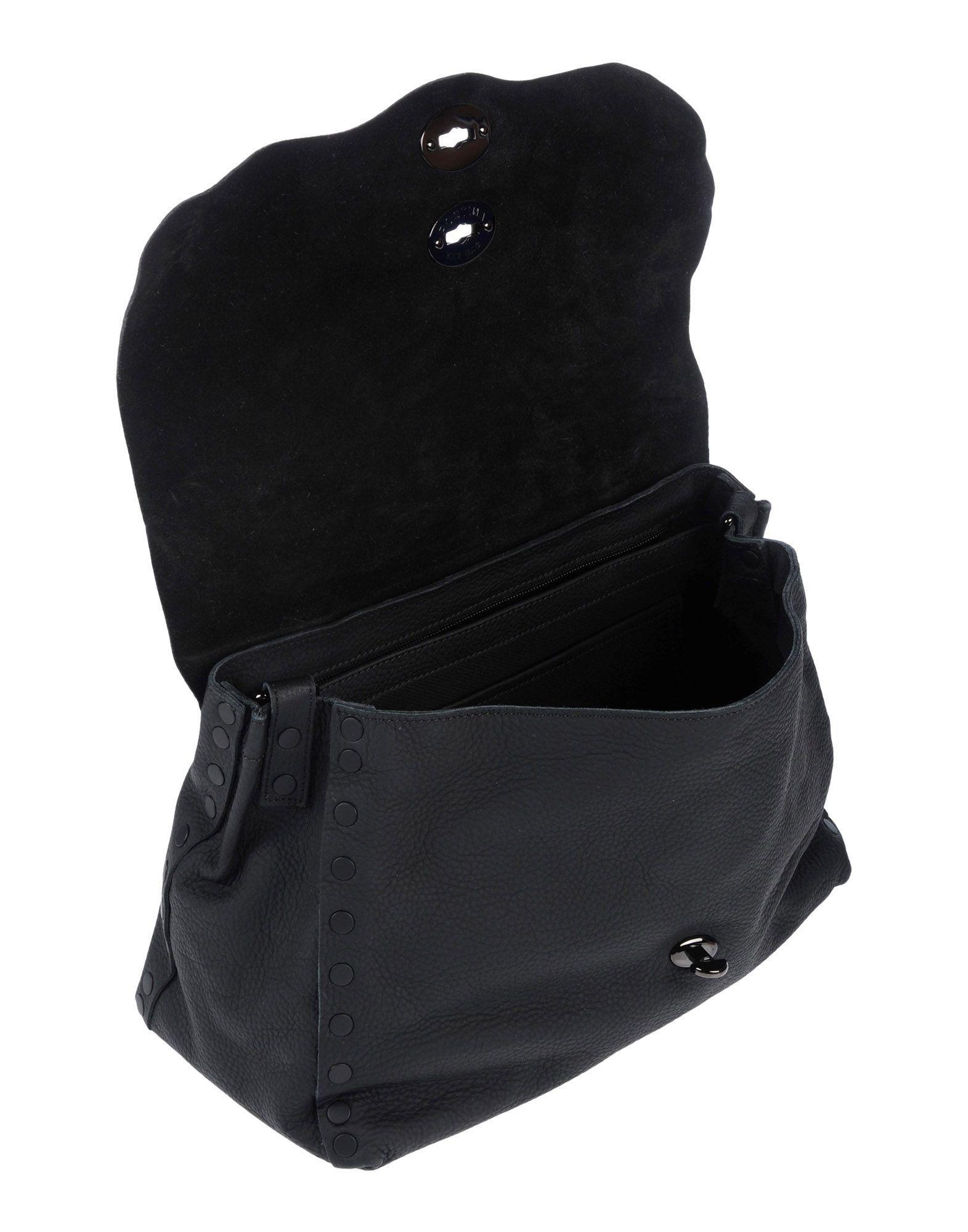 Zanellato Leder Handtaschen in Schwarz EiQYe