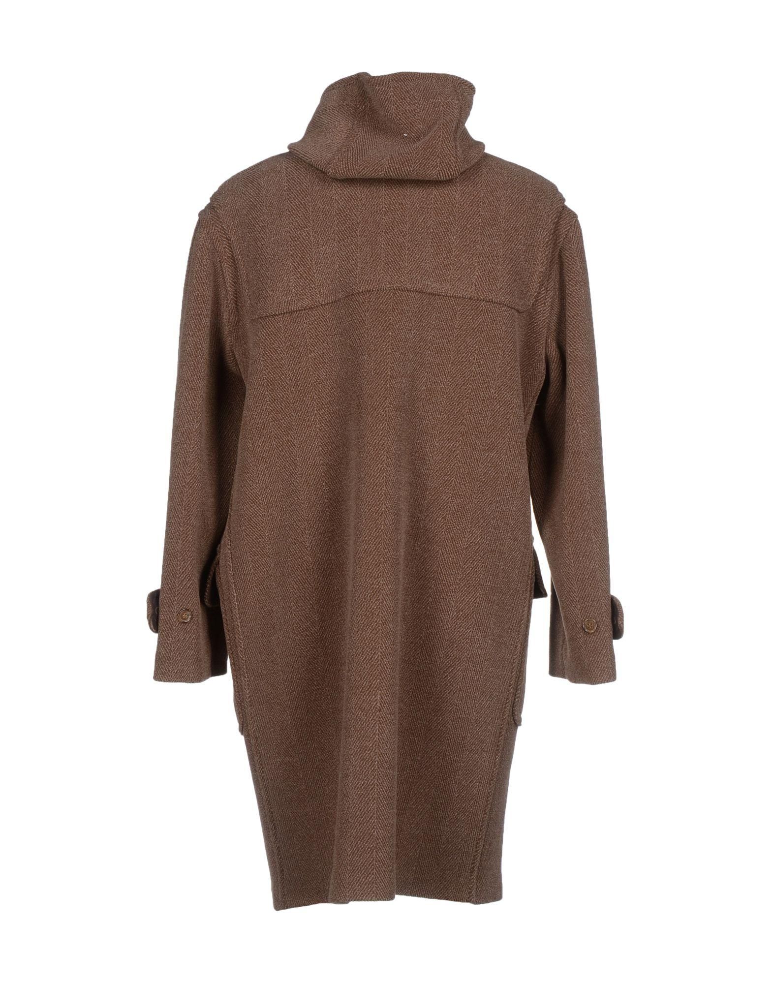 Gloverall Coat in Brown for Men | Lyst