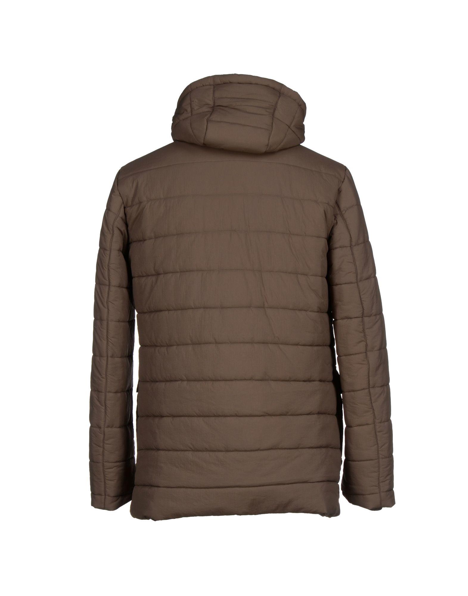 Aquarama Synthetic Jacket in Khaki (Brown) for Men