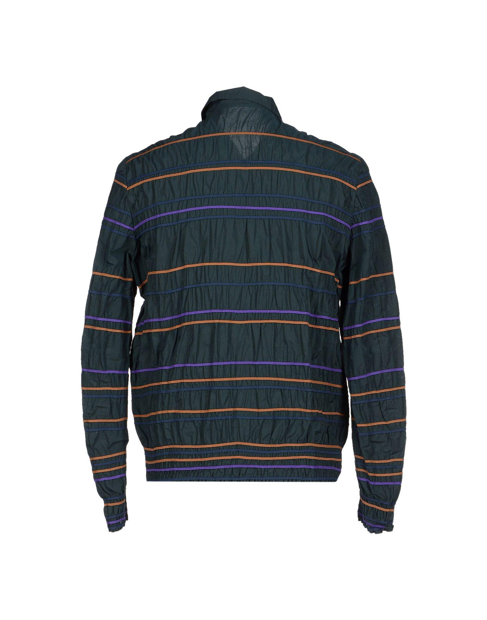 Kolor Synthetic Jacket in Deep Jade (Blue) for Men