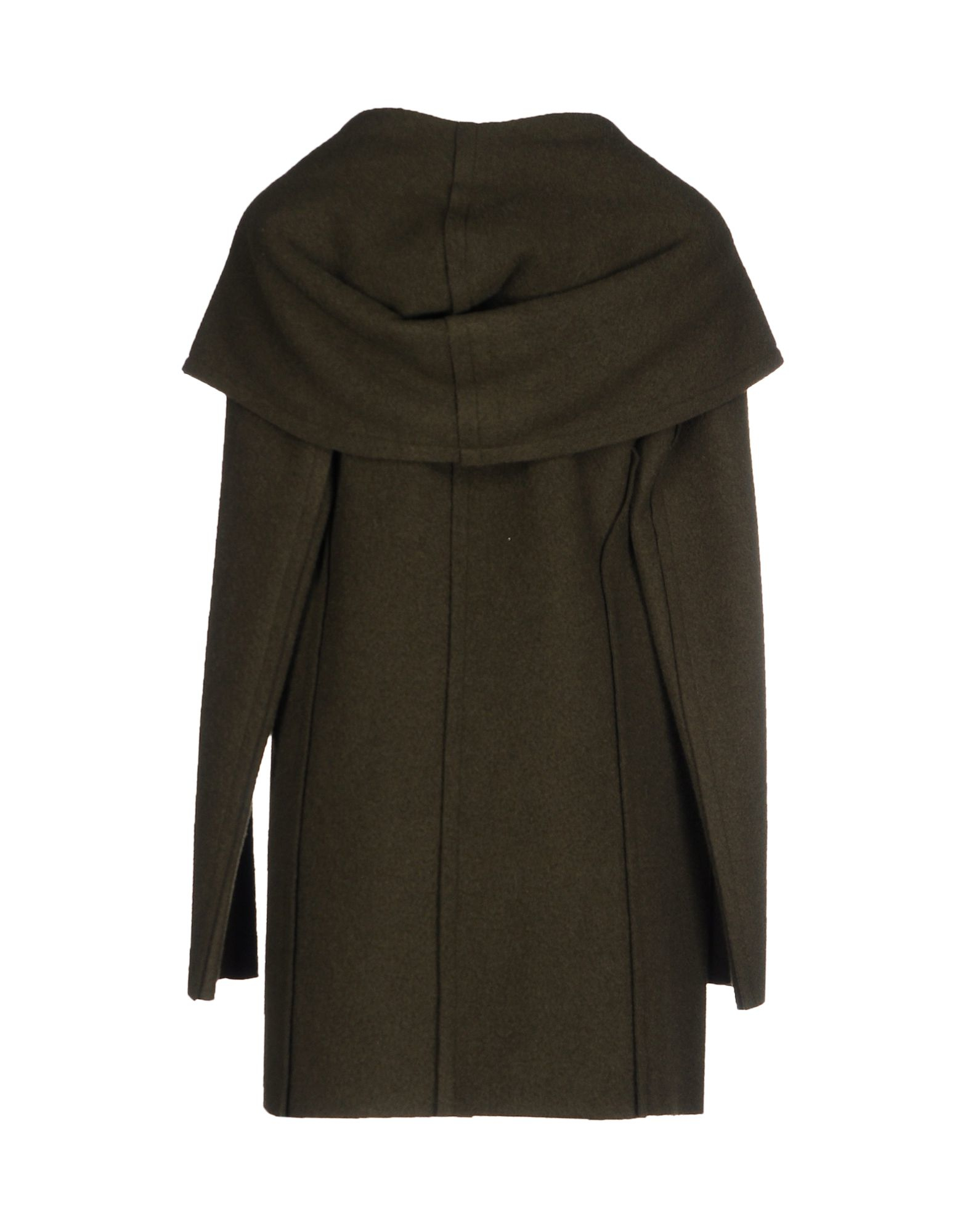 Alysi Wool Coat In Brown Lyst