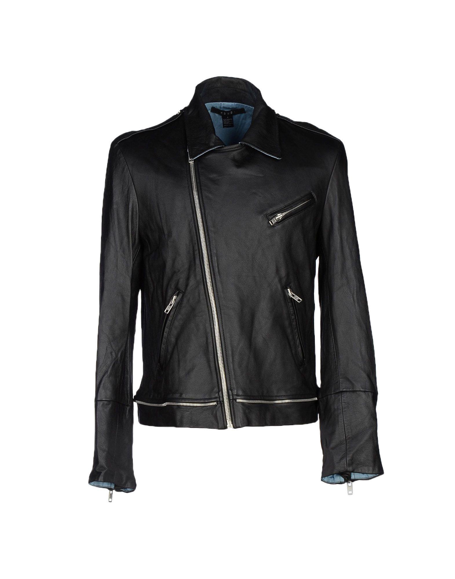 Ksubi leather jacket