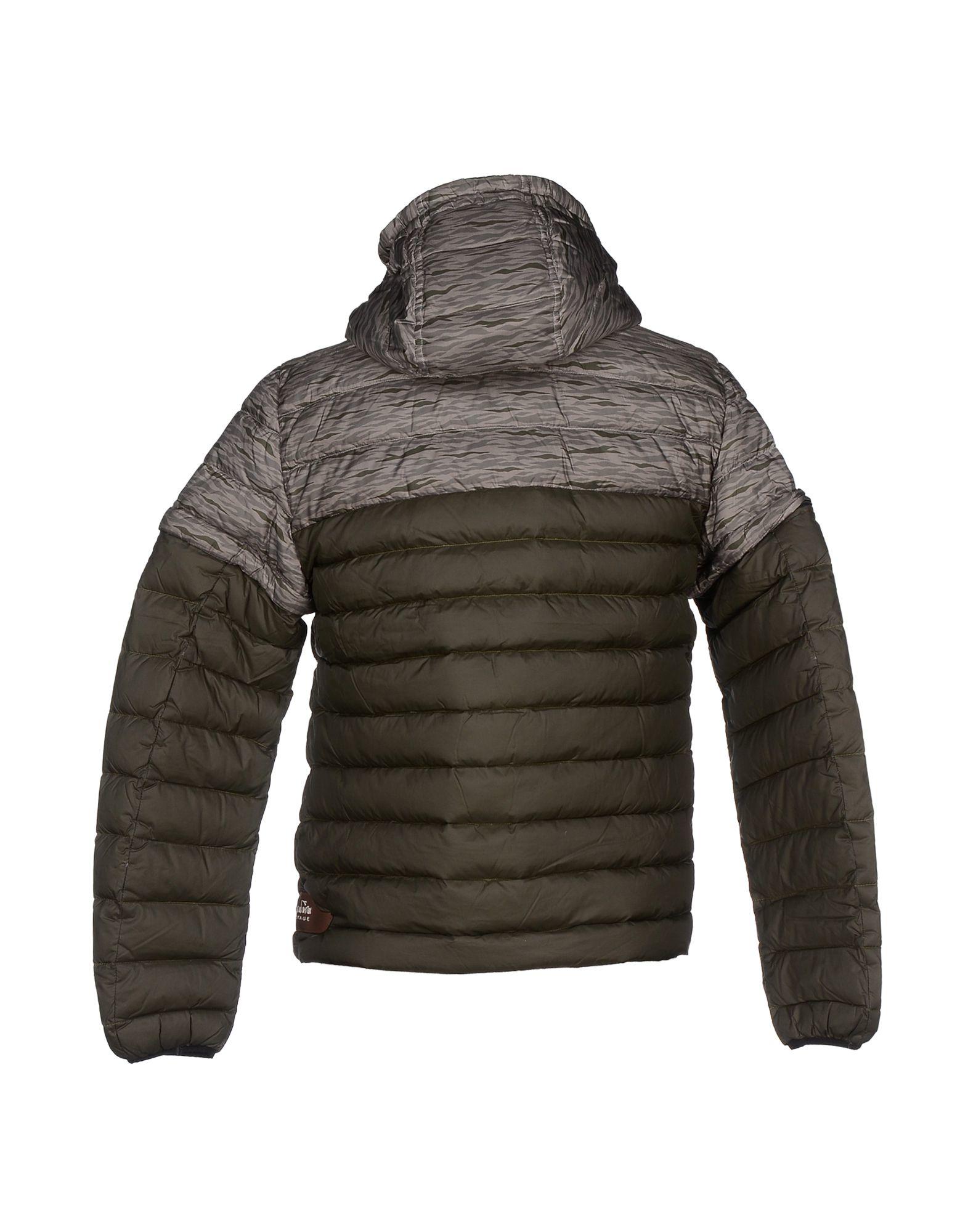 Diadora Goose Down Jacket in Dark Green (Grey) for Men
